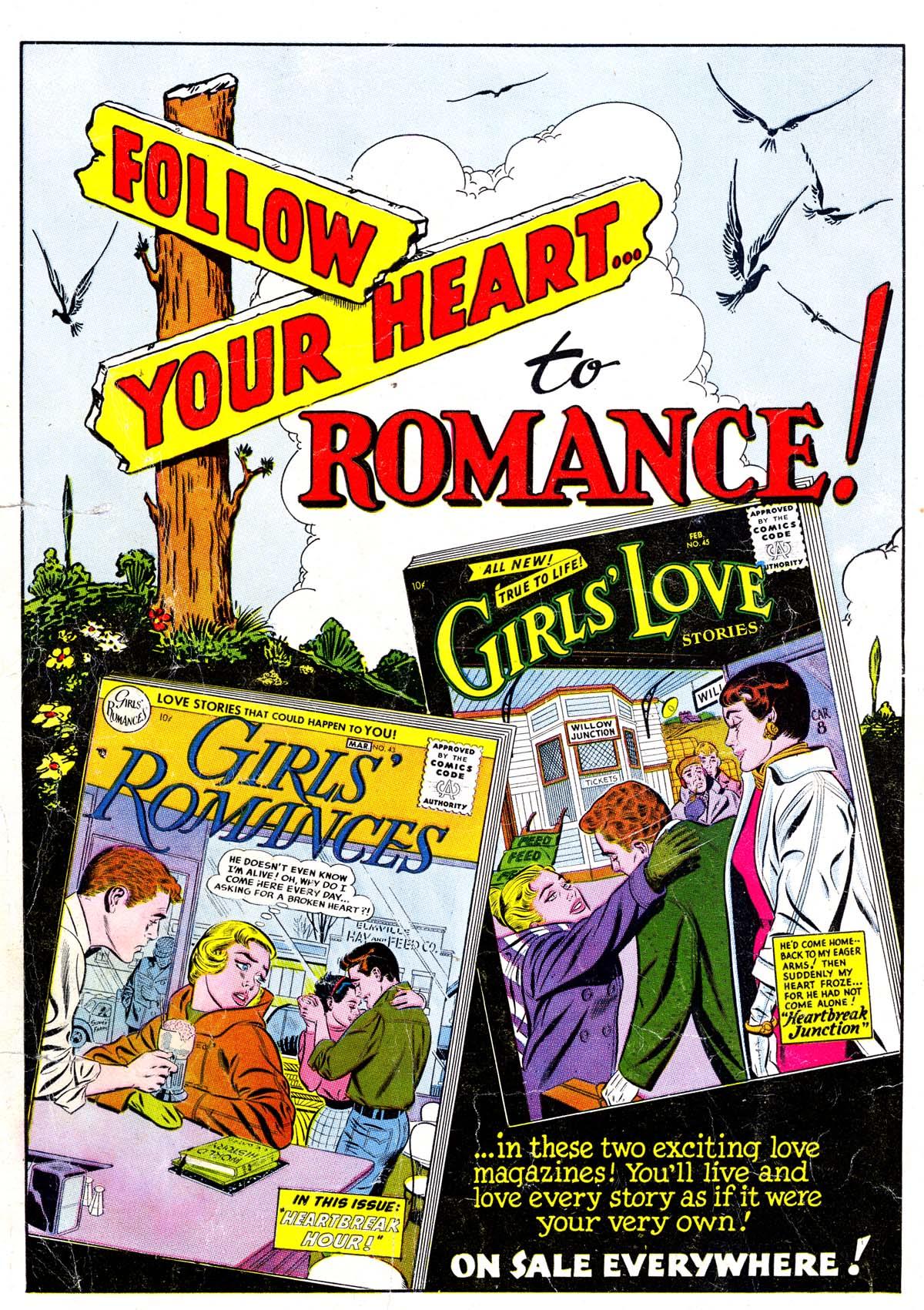 Read online Secret Hearts comic -  Issue #38 - 36