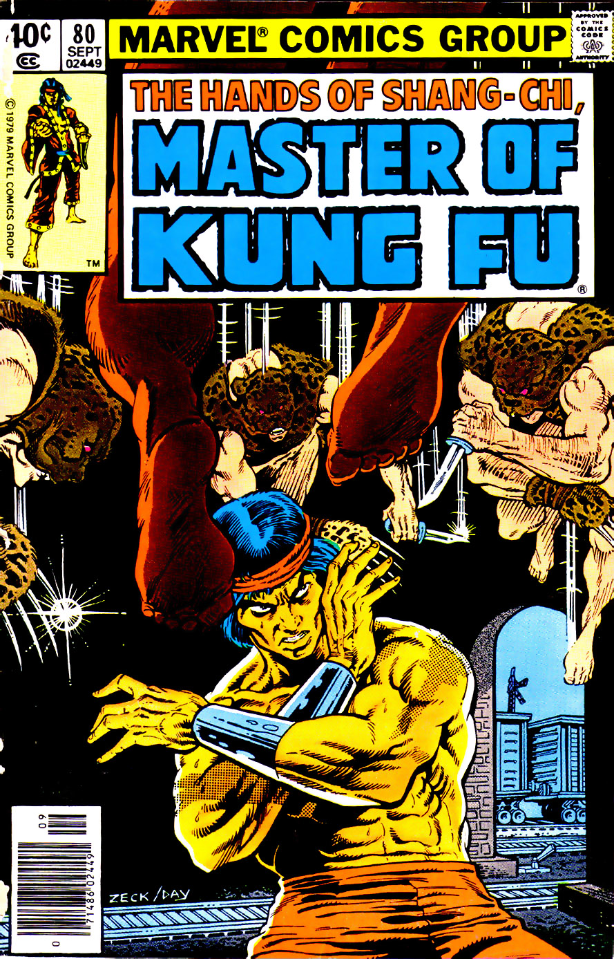 Master of Kung Fu (1974) issue 80 - Page 1