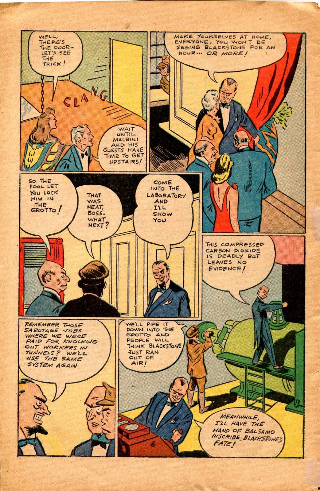 Read online Super-Magician Comics comic -  Issue #34 - 46
