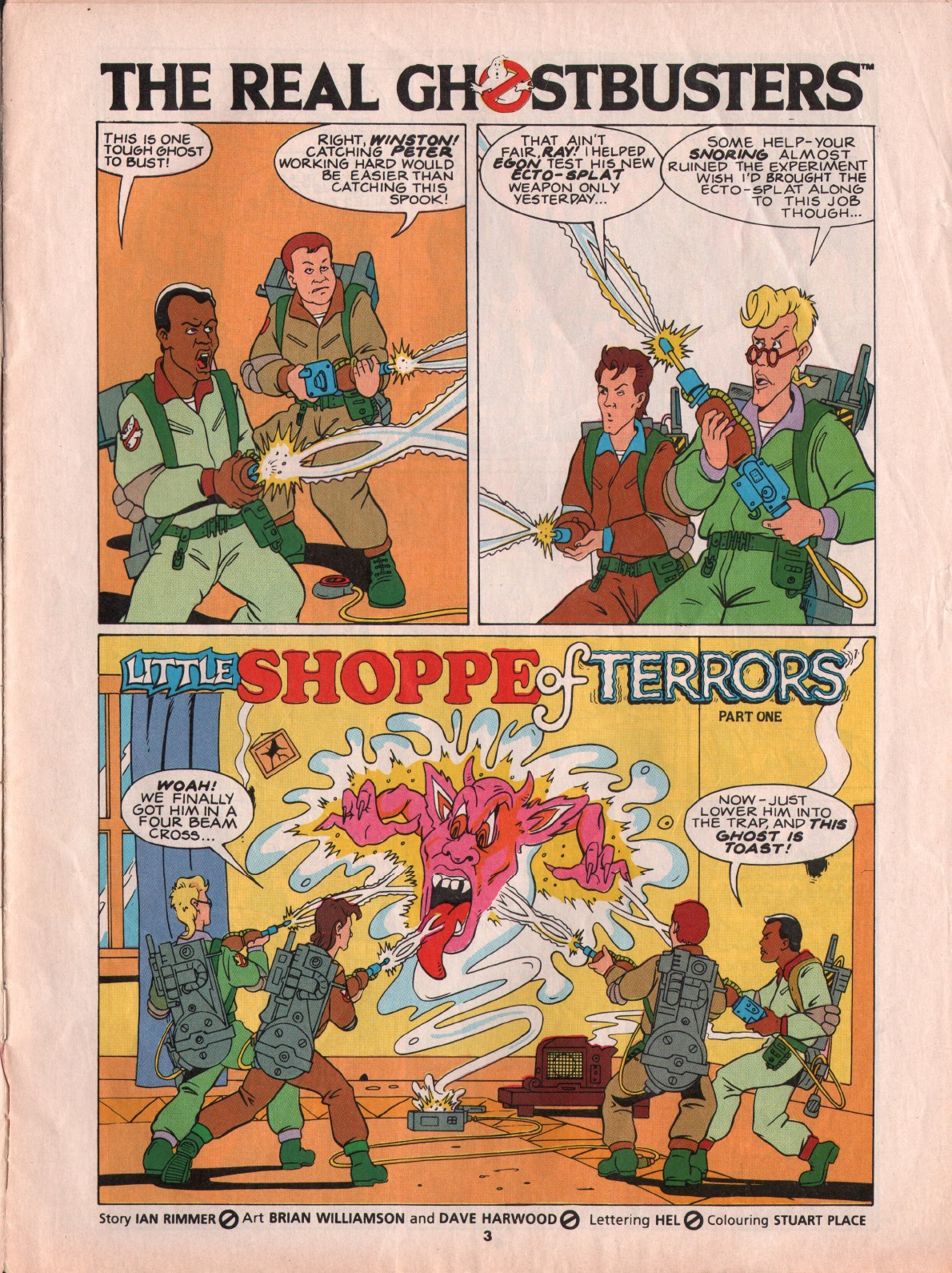 The Real Ghostbusters Issue #5 #7 - English 3
