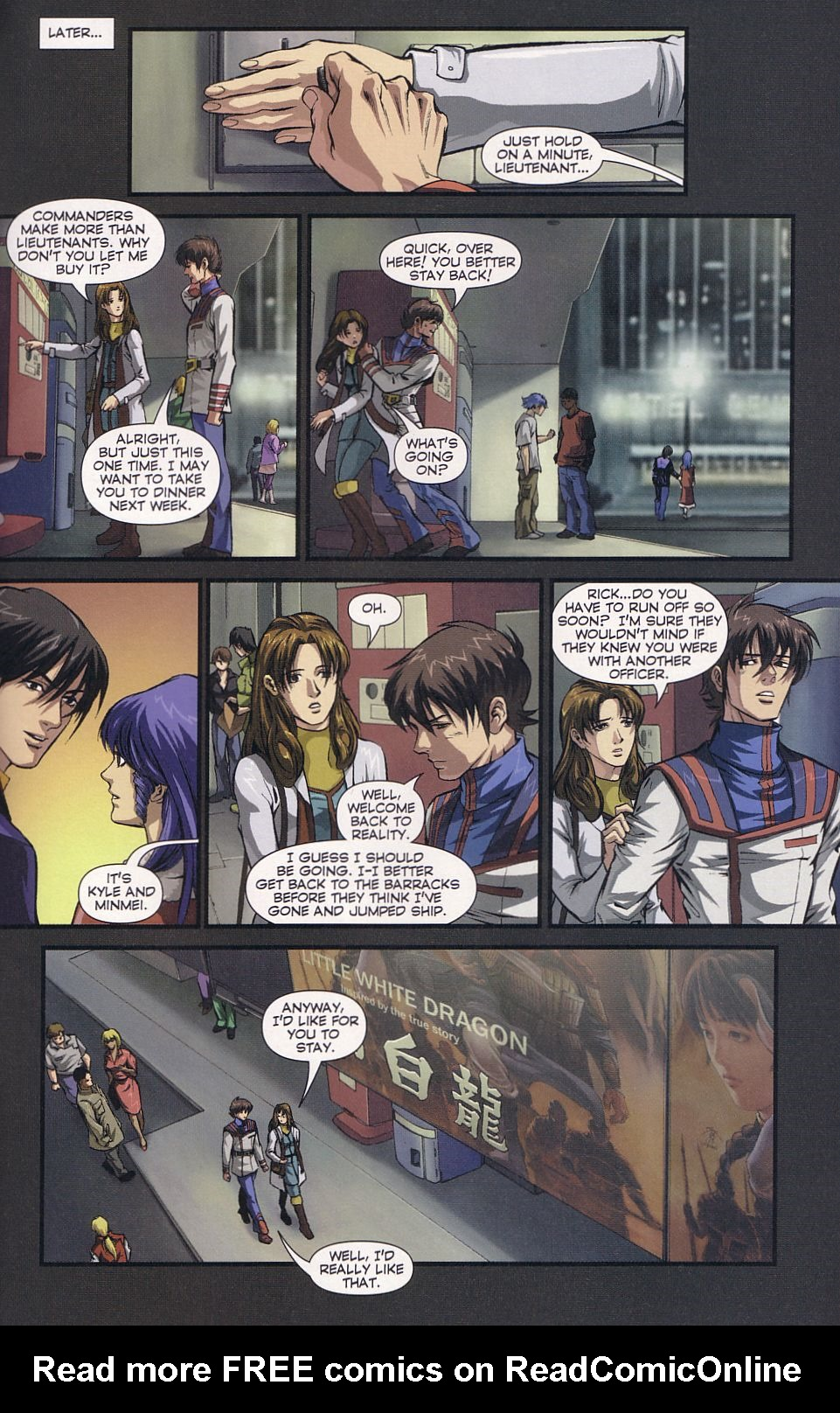 Read online Robotech: Love and War comic -  Issue #6 - 23