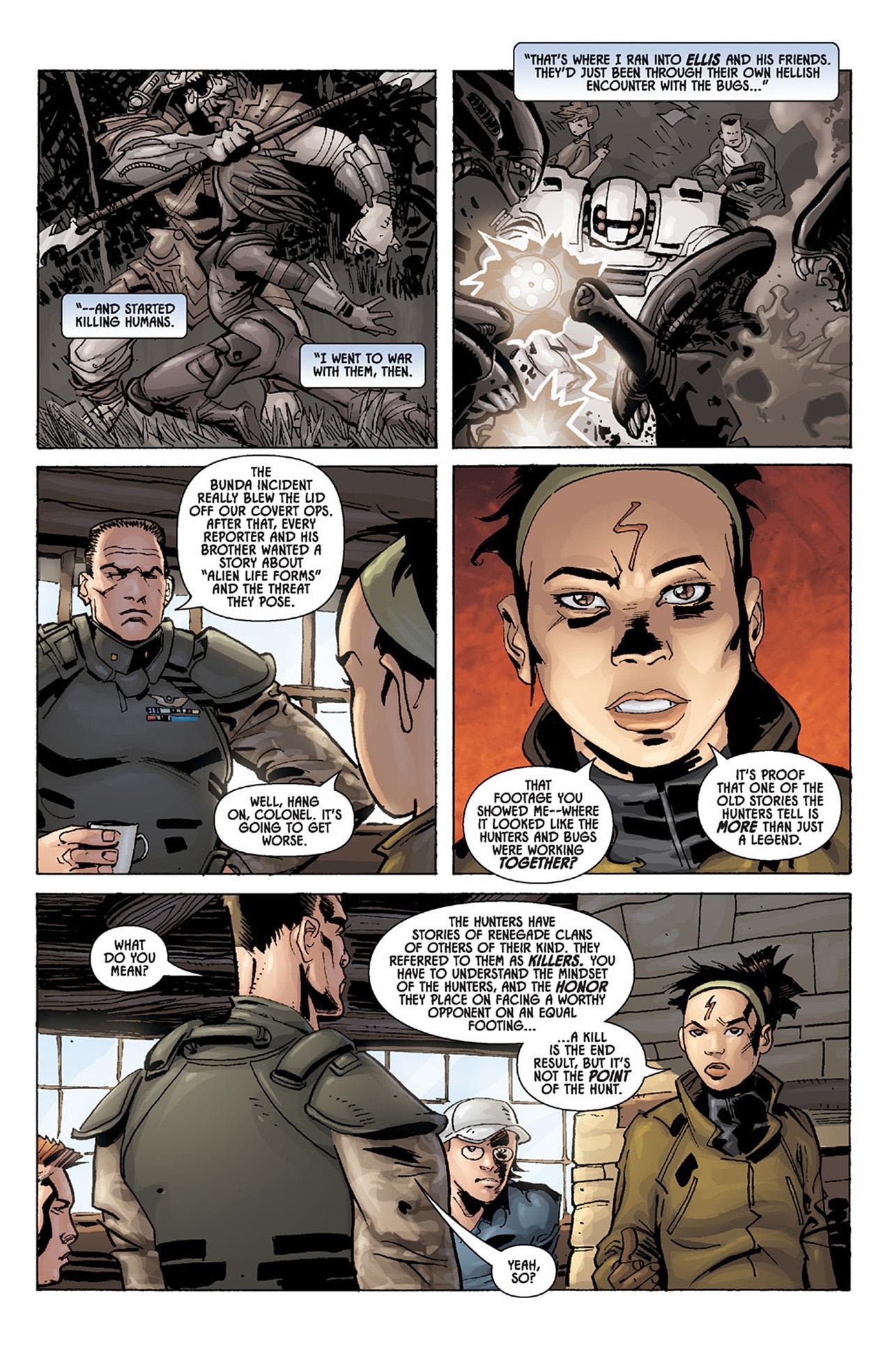 Read online Aliens vs. Predator: Three World War comic -  Issue #1 - 24