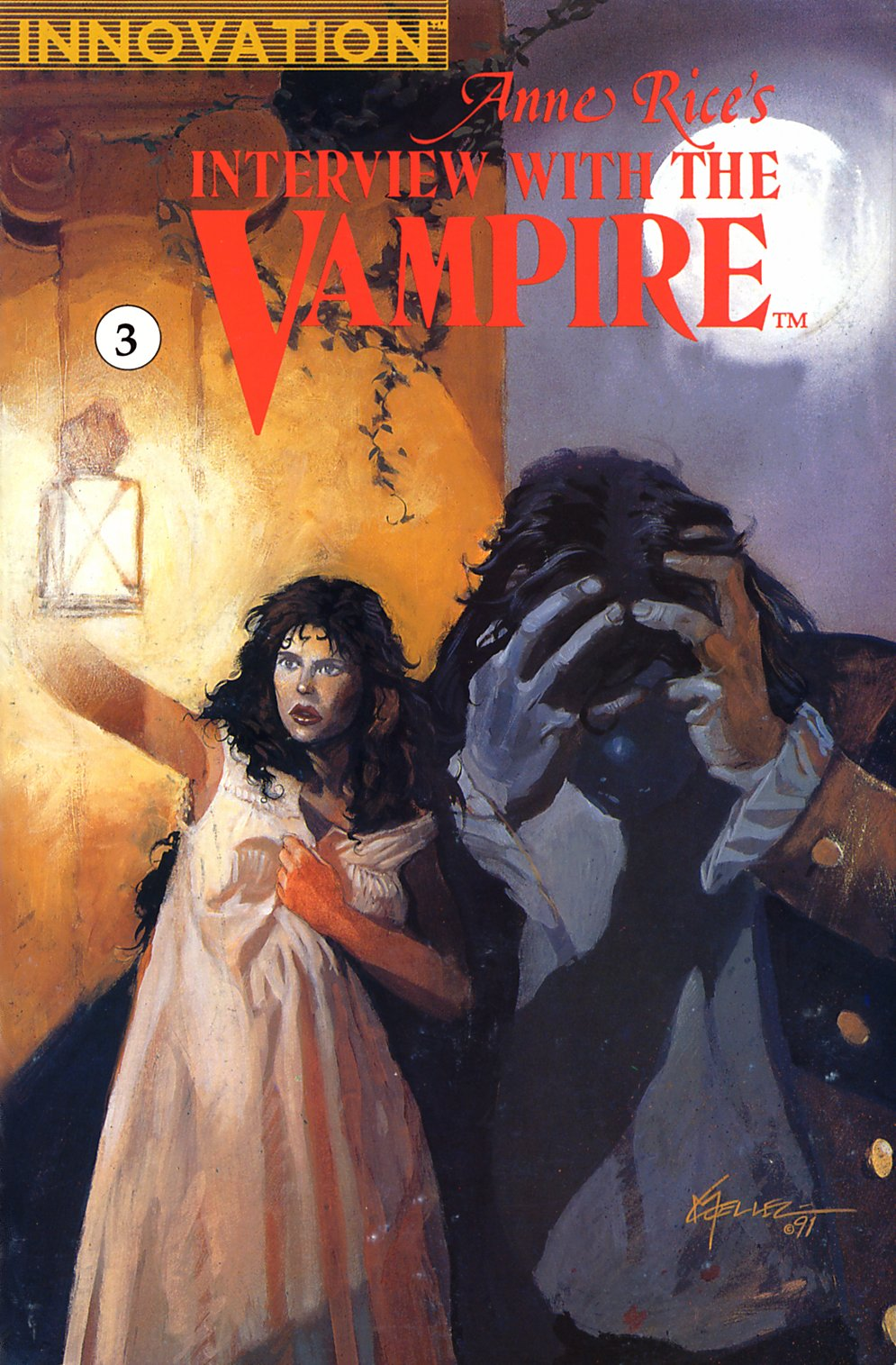 Read online Anne Rice's Interview with the Vampire comic -  Issue #3 - 1