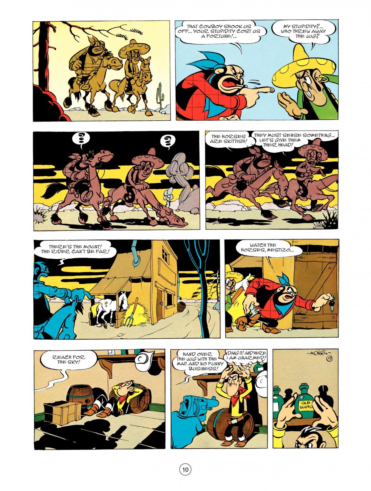 Read online A Lucky Luke Adventure comic -  Issue #48 - 10