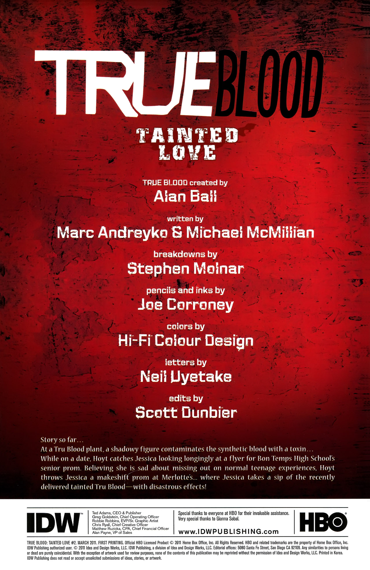 Read online True Blood: Tainted Love comic -  Issue #2 - 4