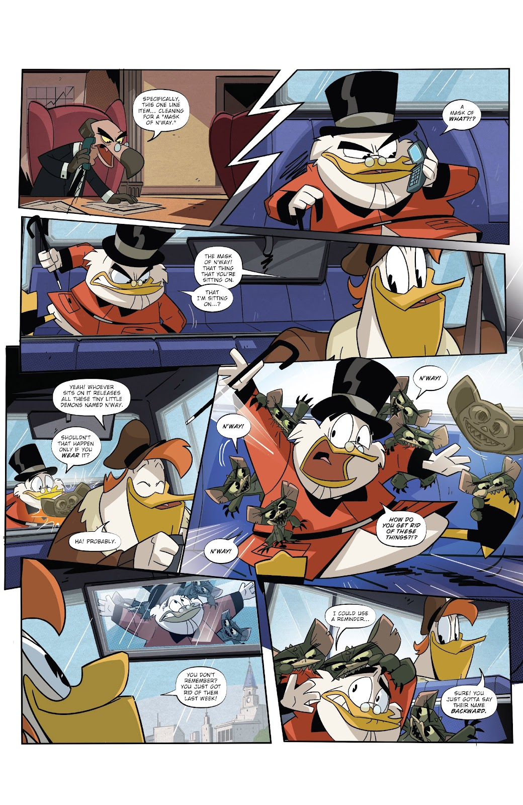 Read online Ducktales (2017) comic -  Issue #19 - 8