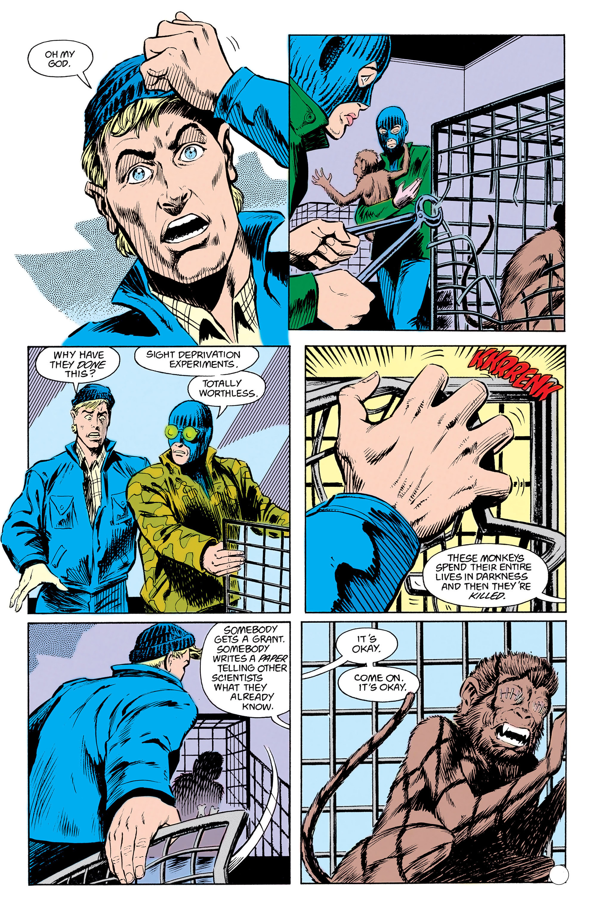 Read online Animal Man (1988) comic -  Issue #17 - 7