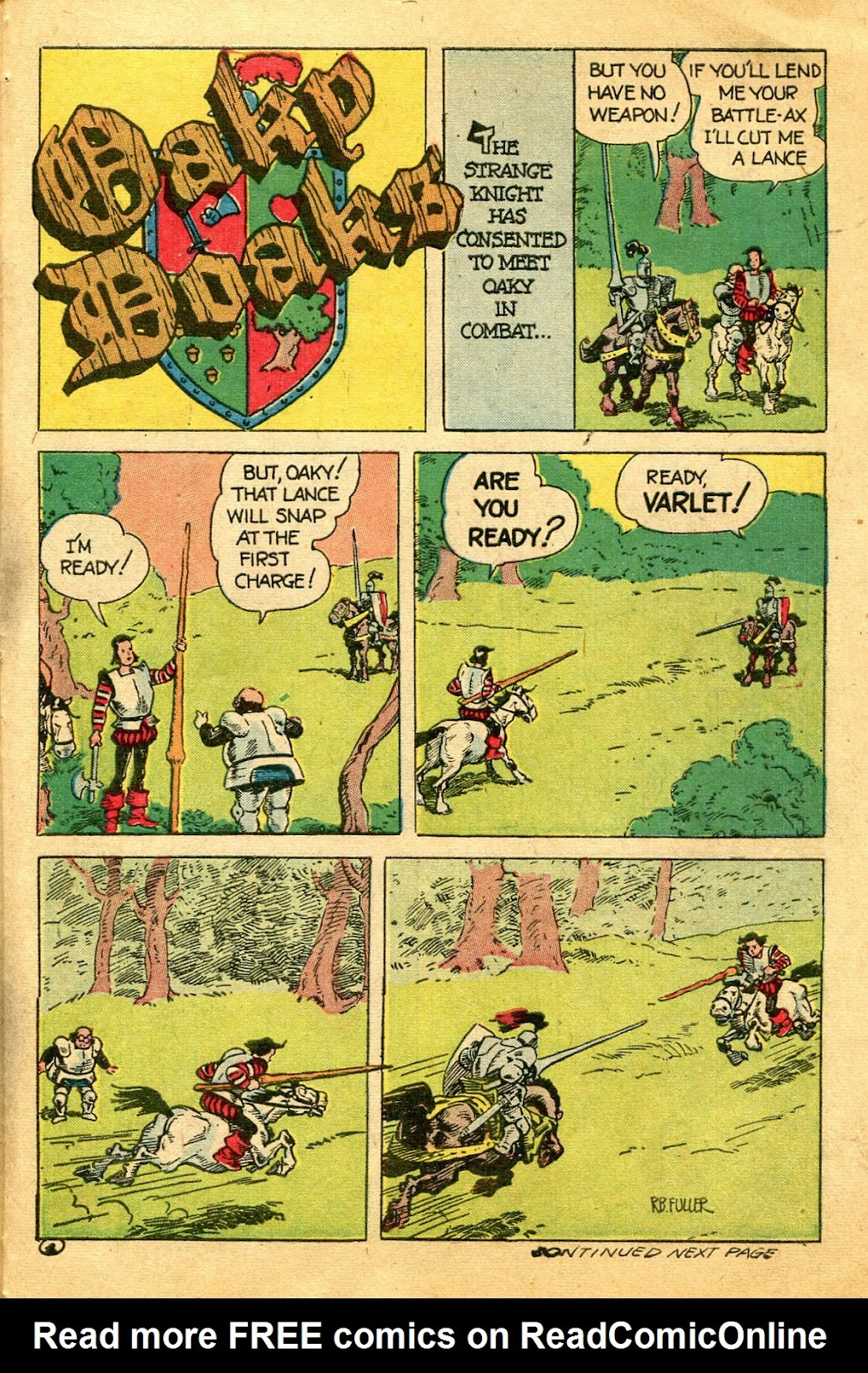 Read online Famous Funnies comic -  Issue #122 - 41