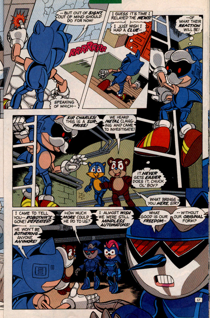 Read online Sonic Super Special comic -  Issue #2 - Brave new world - 19