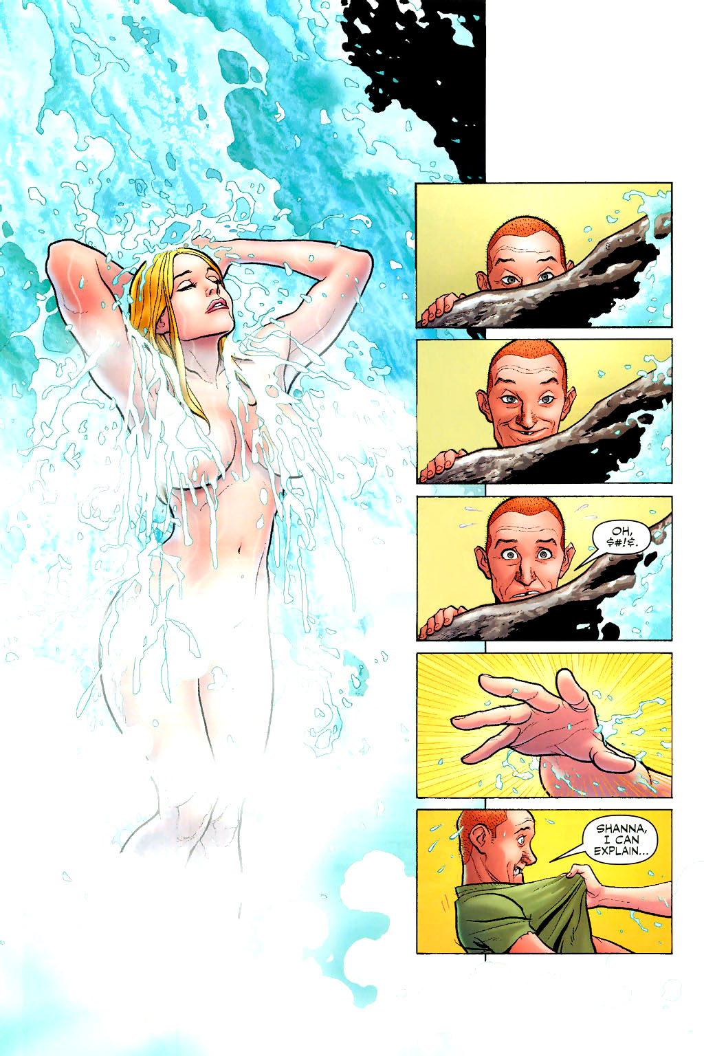 Read online Shanna, the She-Devil (2005) comic -  Issue #2 - 12