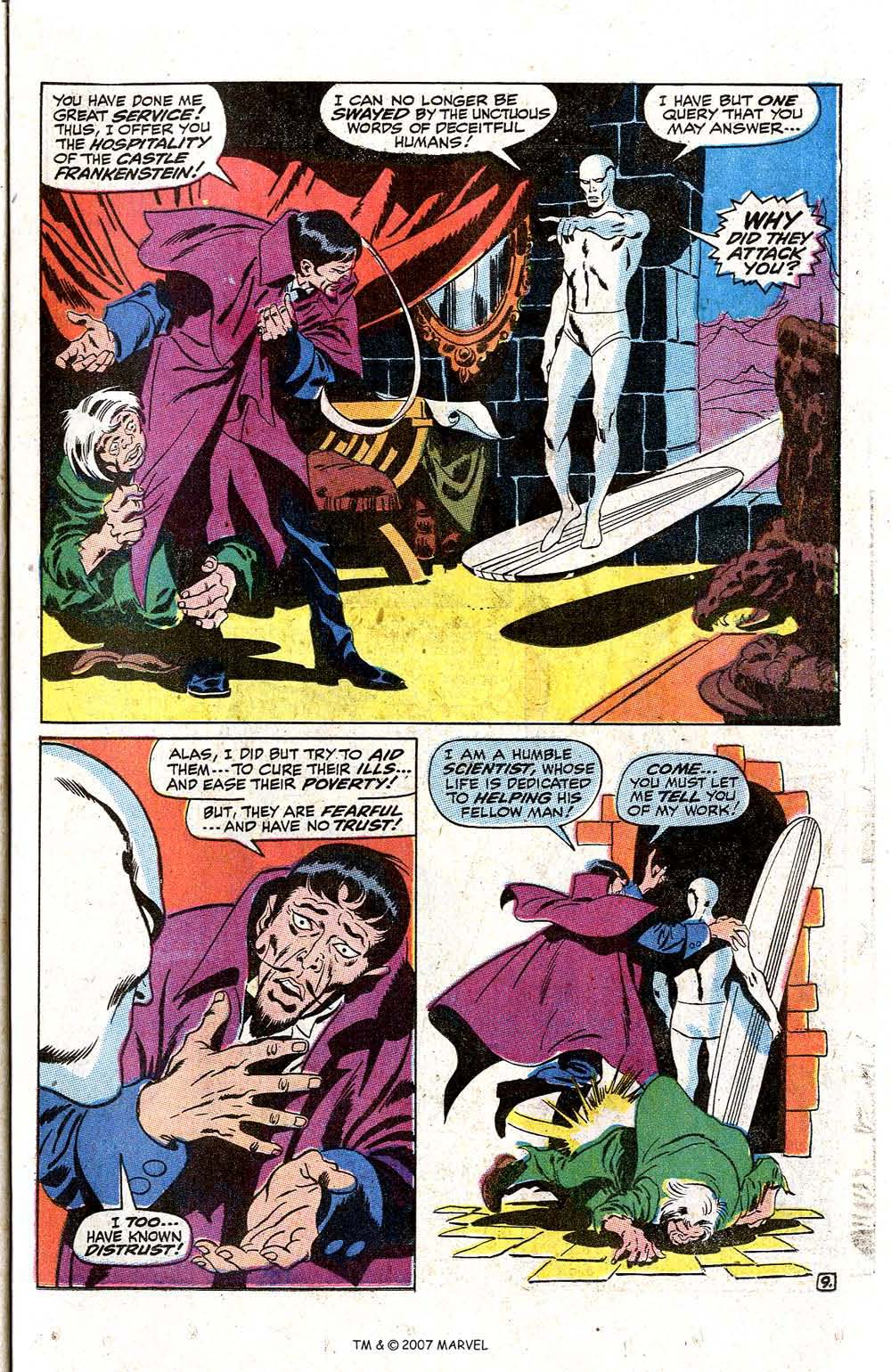 Read online Silver Surfer (1968) comic -  Issue #7 - 11