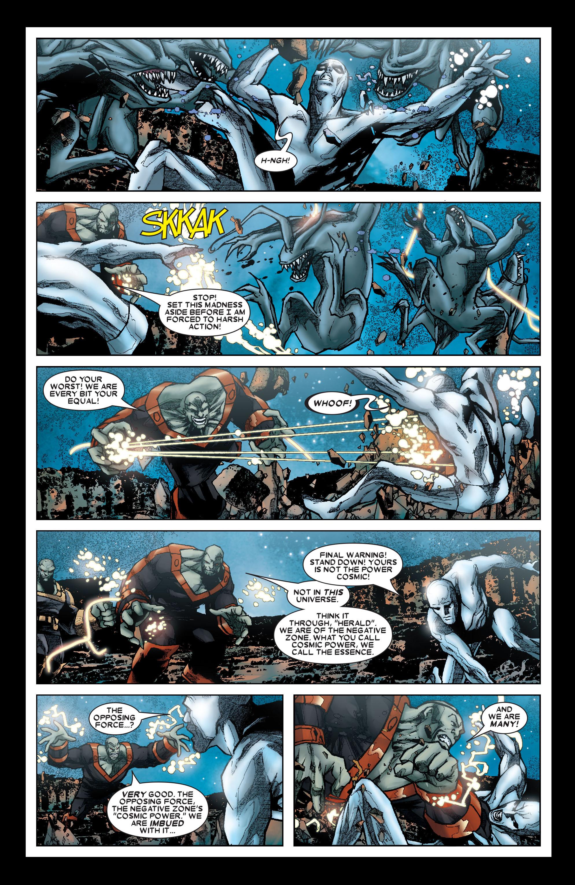 Read online Annihilation: Silver Surfer comic -  Issue #1 - 10