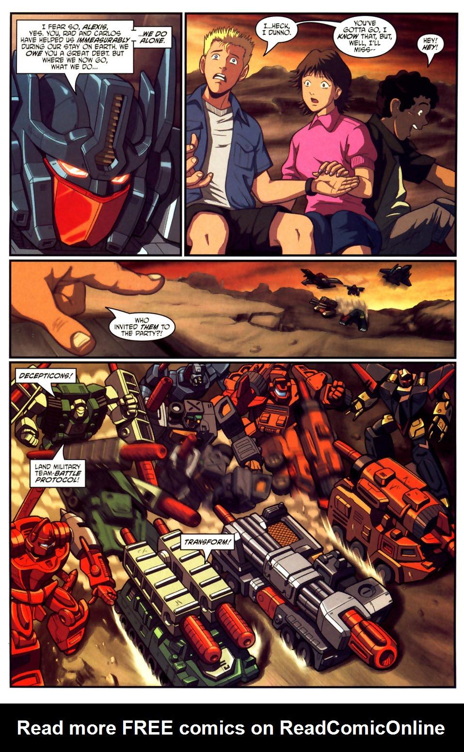 Read online Transformers Armada comic -  Issue #18 - 6
