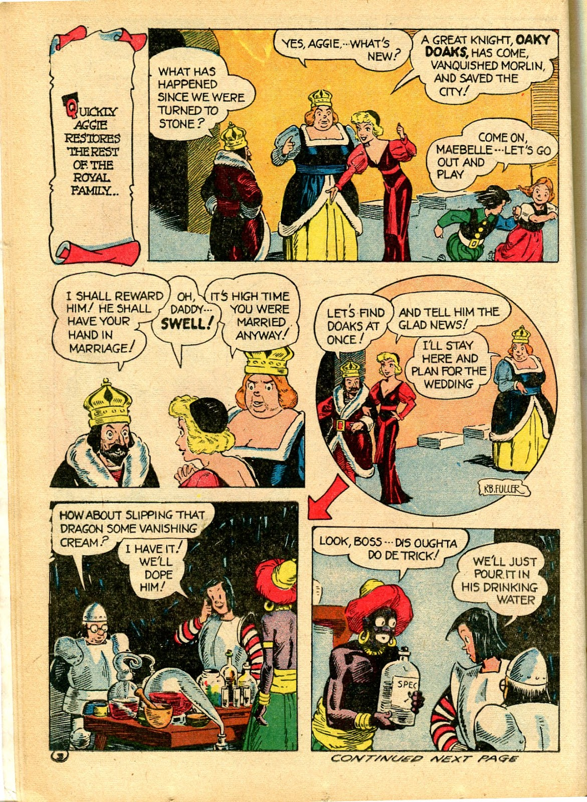 Read online Famous Funnies comic -  Issue #111 - 26