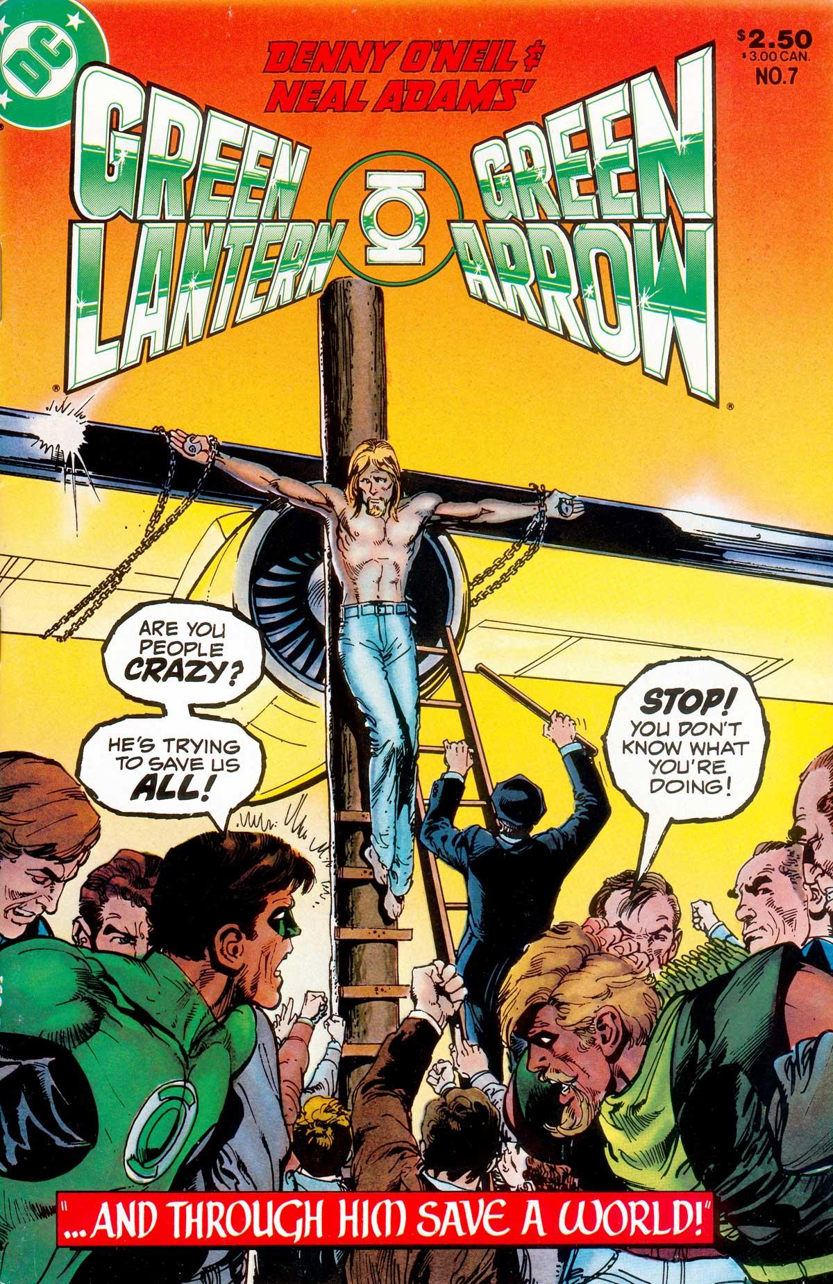 Green Lantern/Green Arrow 7 Page 1