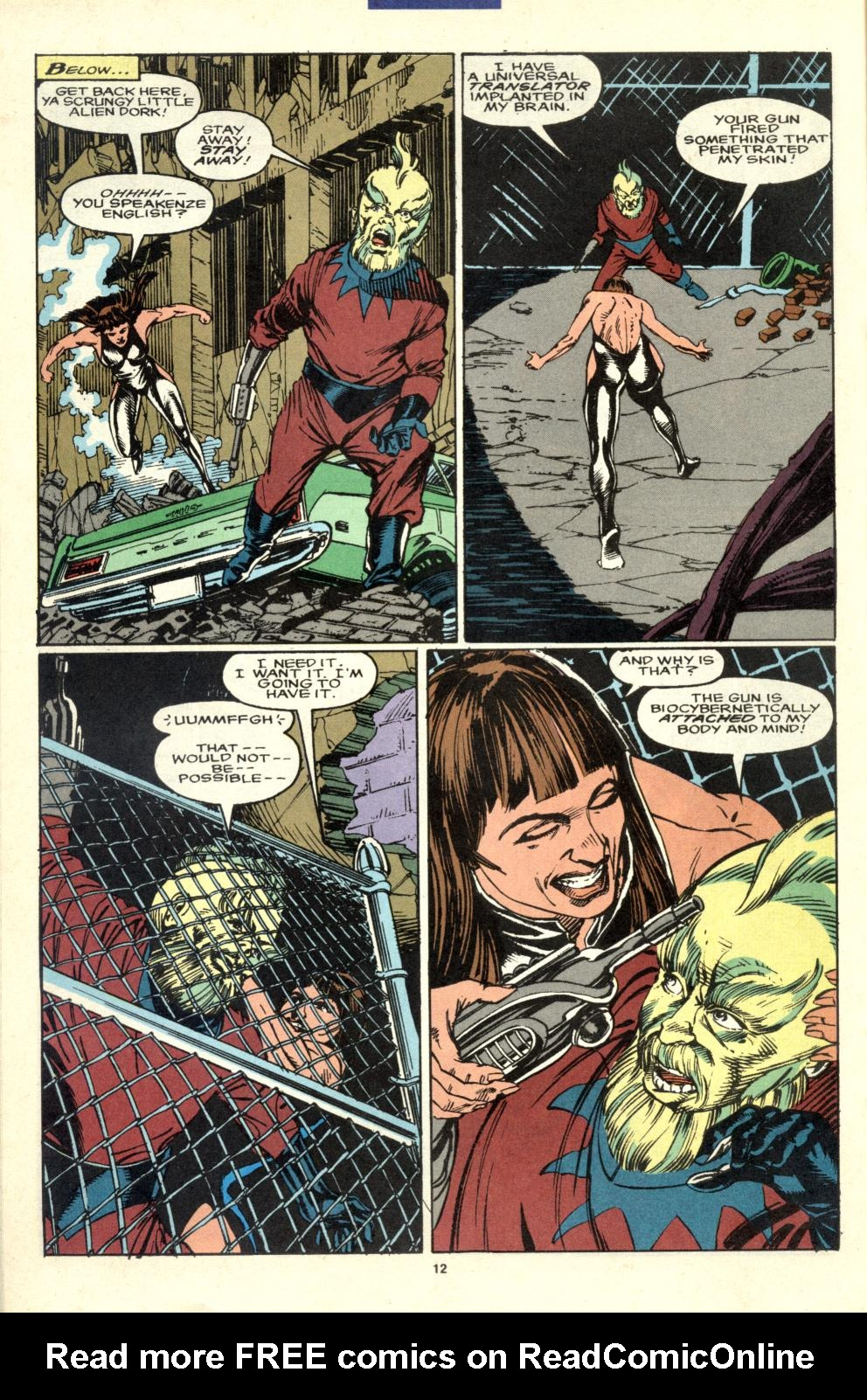 Read online Alpha Flight (1983) comic -  Issue #99 - 11