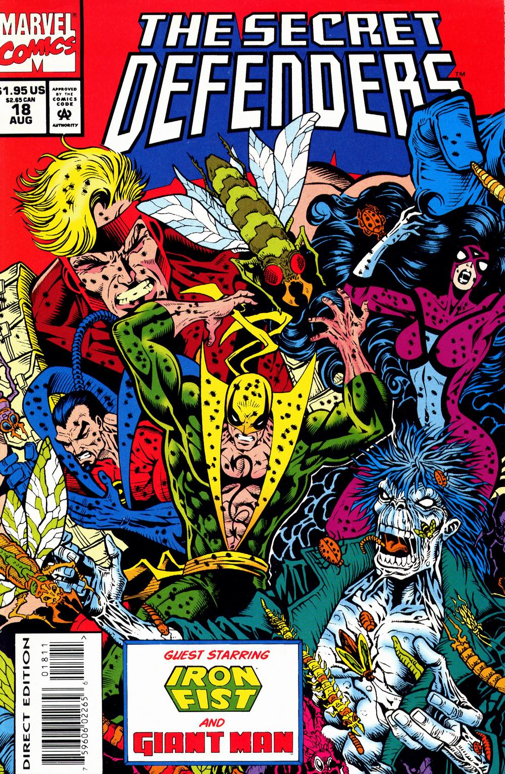 Read online Secret Defenders comic -  Issue #18 - 1