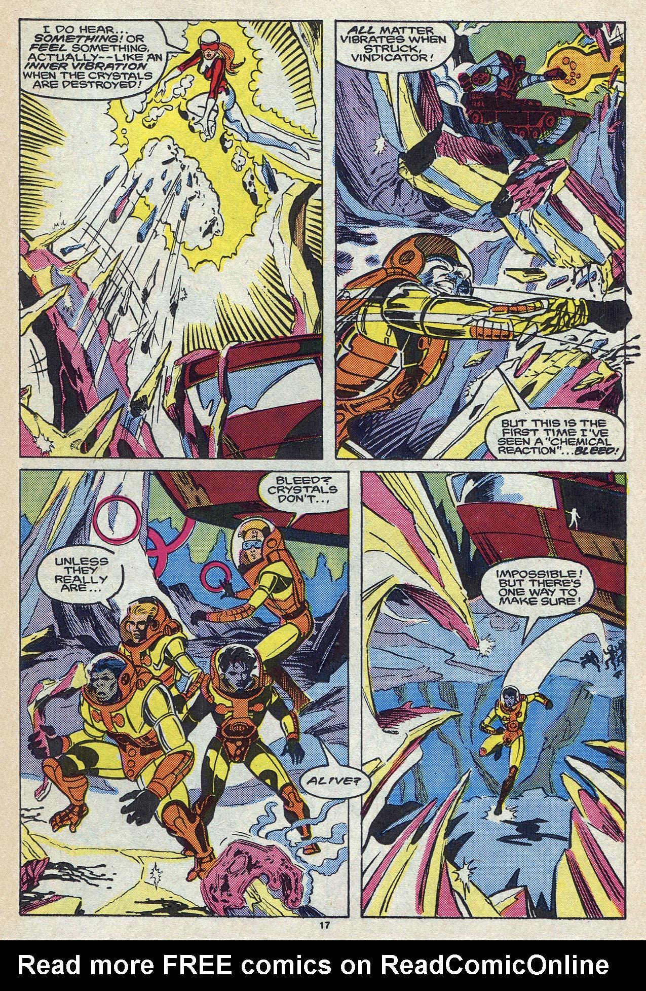 Read online Alpha Flight (1983) comic -  Issue #57 - 24