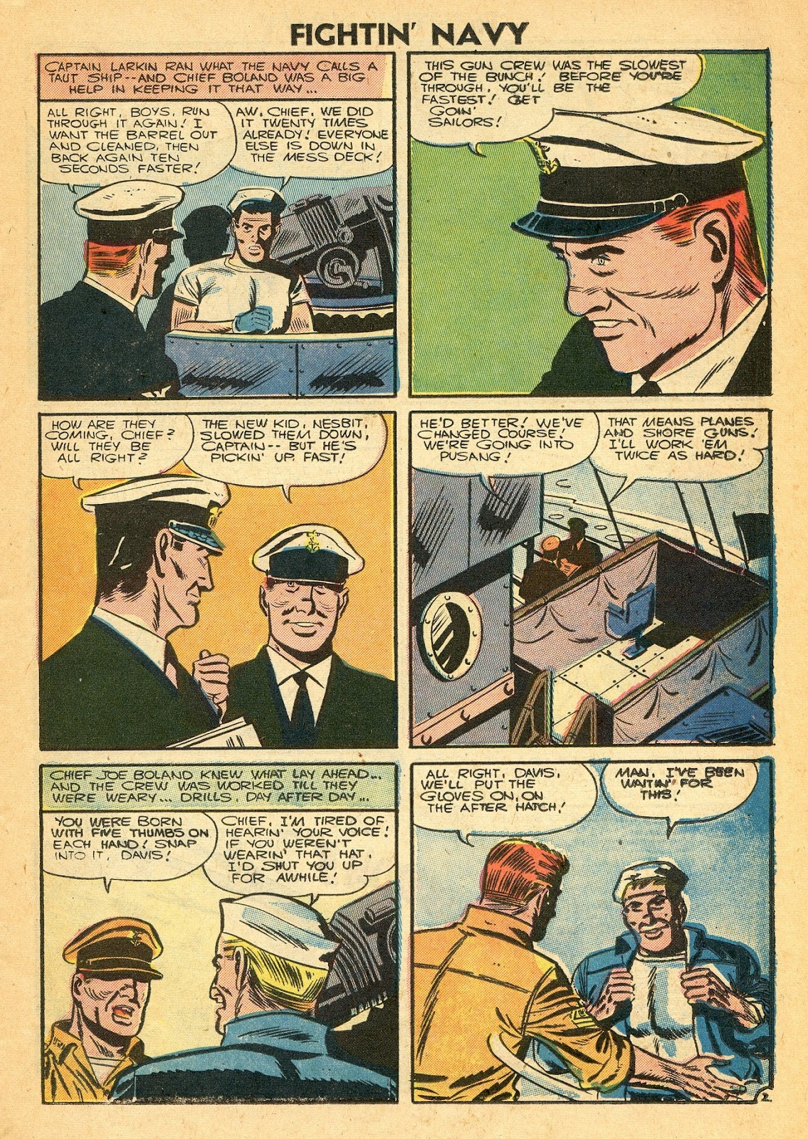 Read online Fightin' Navy comic -  Issue #77 - 11