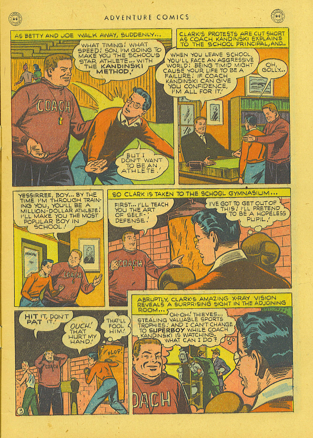 Read online Adventure Comics (1938) comic -  Issue #131 - 4