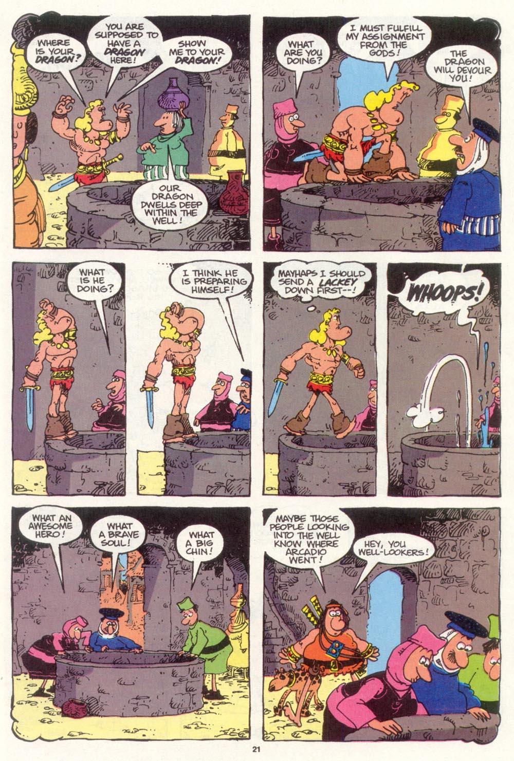 Read online Sergio Aragonés Groo the Wanderer comic -  Issue #98 - 22