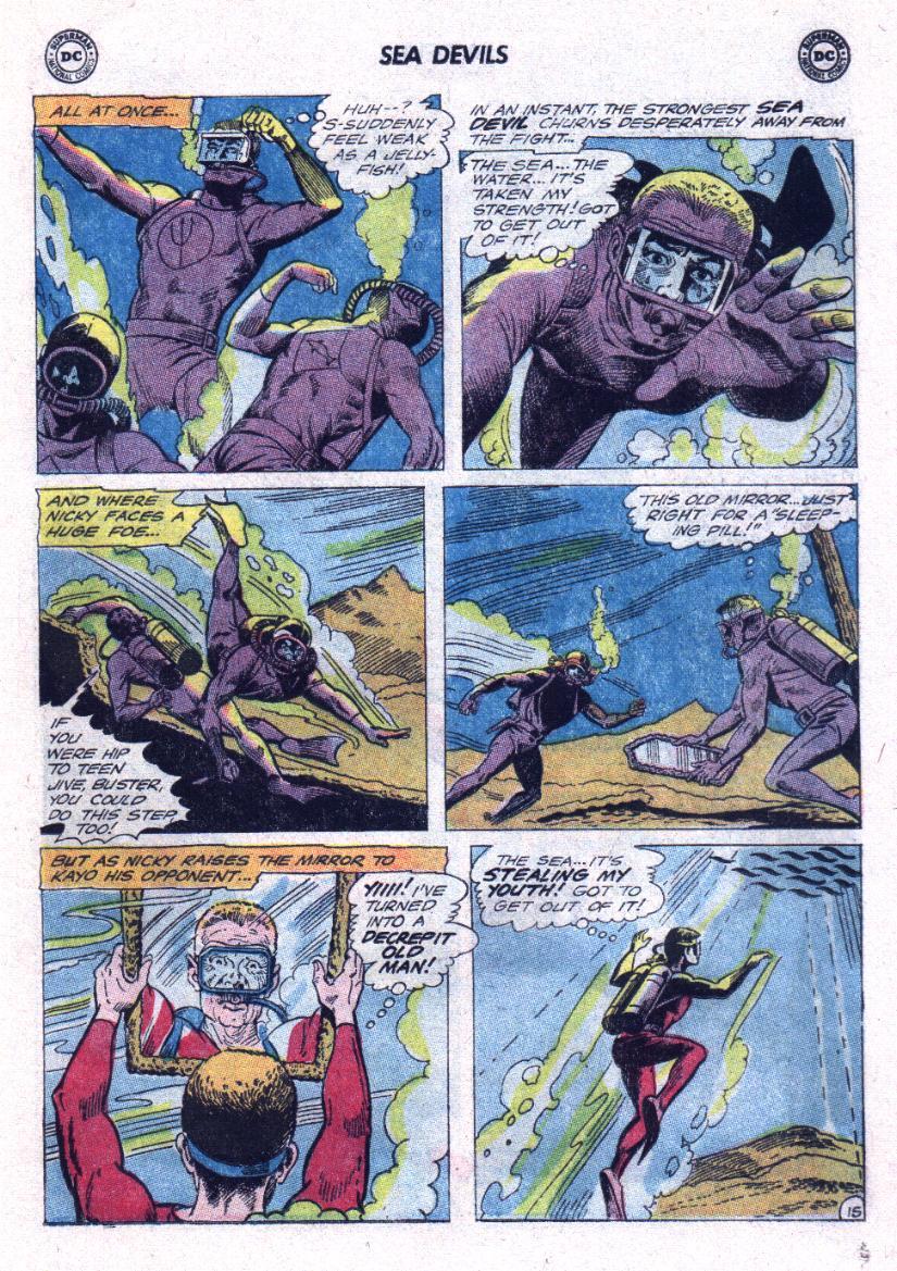 Read online Sea Devils comic -  Issue #23 - 19