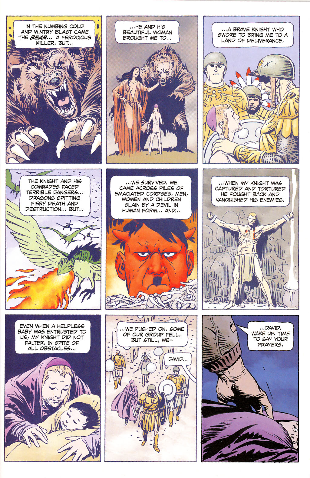 Read online Sgt. Rock: The Prophecy comic -  Issue #6 - 2