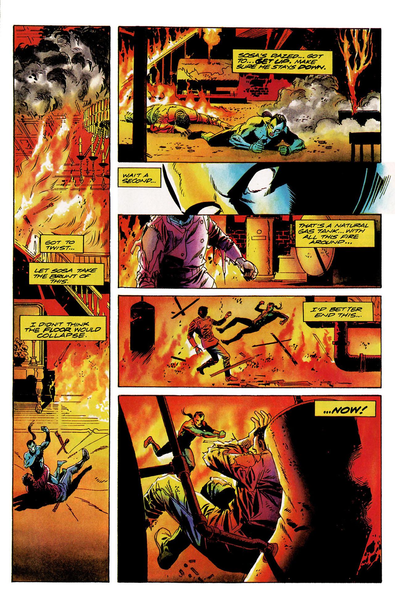 Read online Shadowman (1992) comic -  Issue #9 - 21