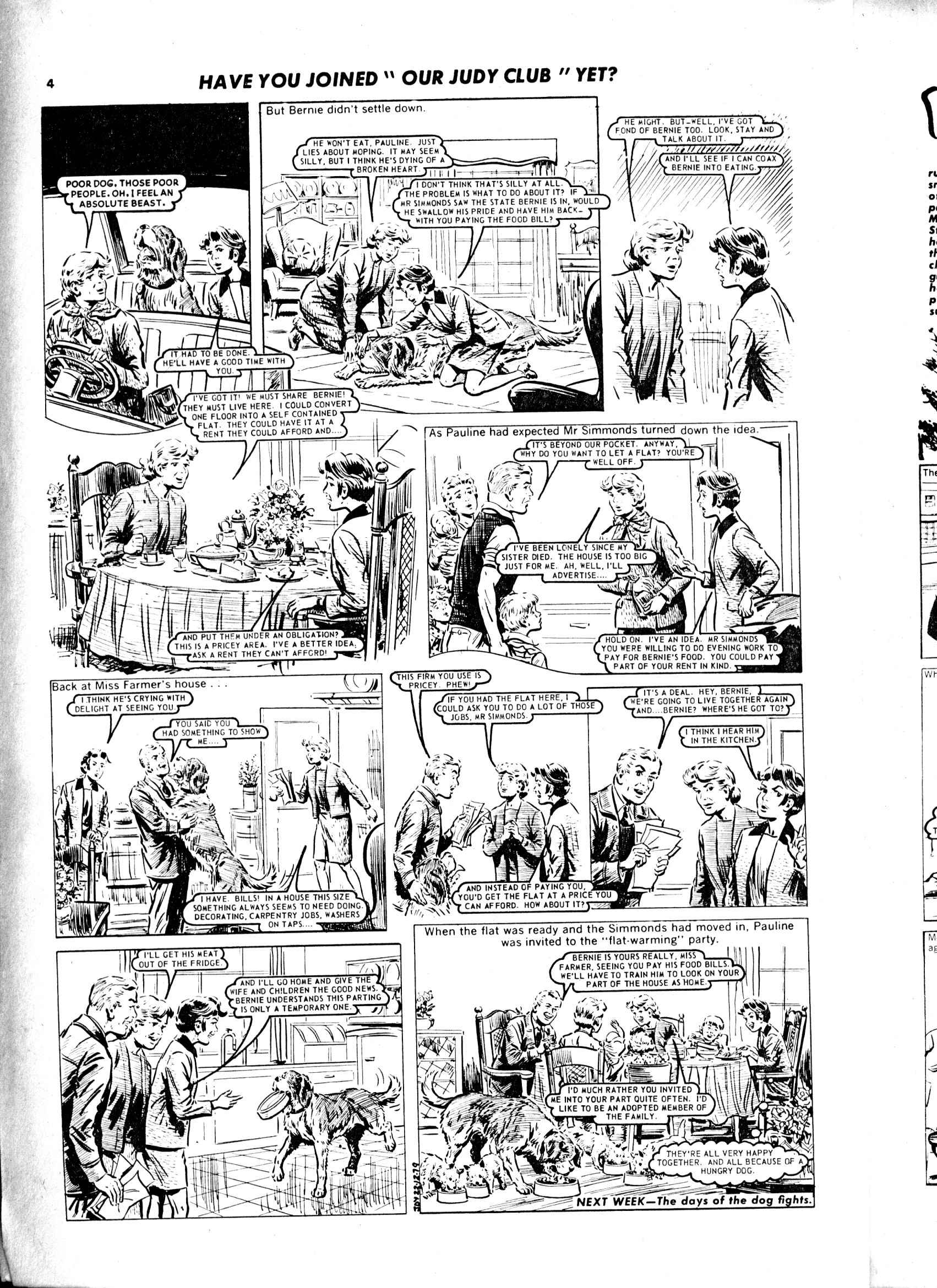 Read online Judy comic -  Issue #1041 - 4