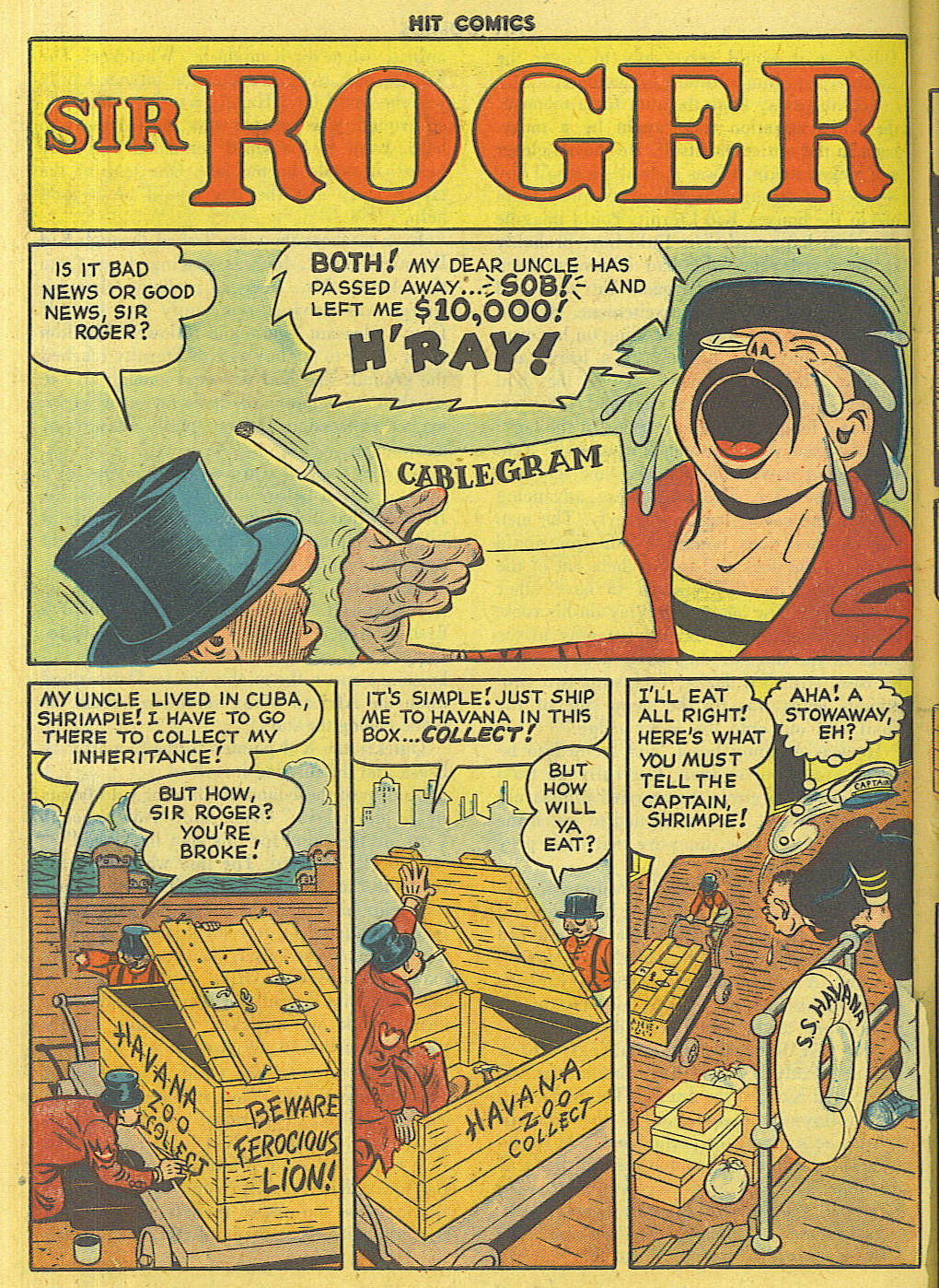 Read online Hit Comics comic -  Issue #56 - 38