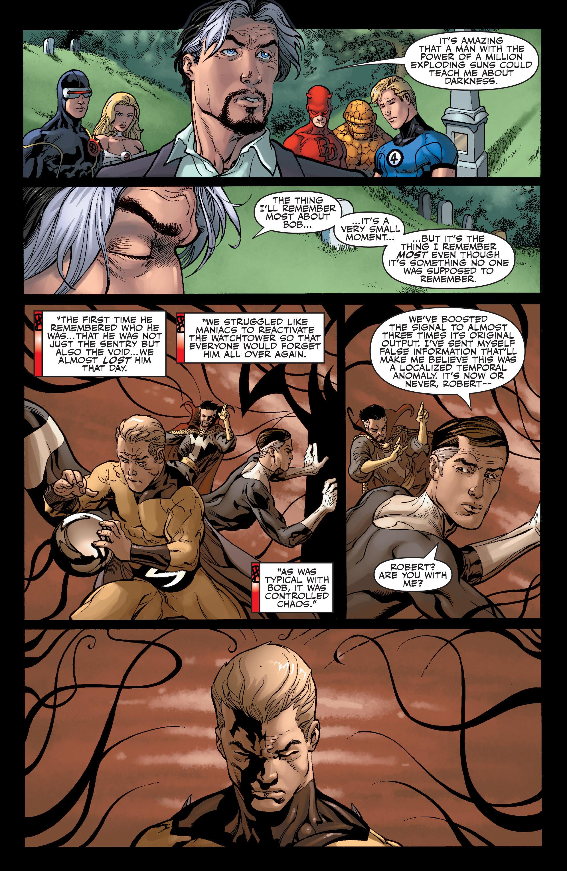 Read online Sentry: Fallen Sun comic -  Issue # Full - 12