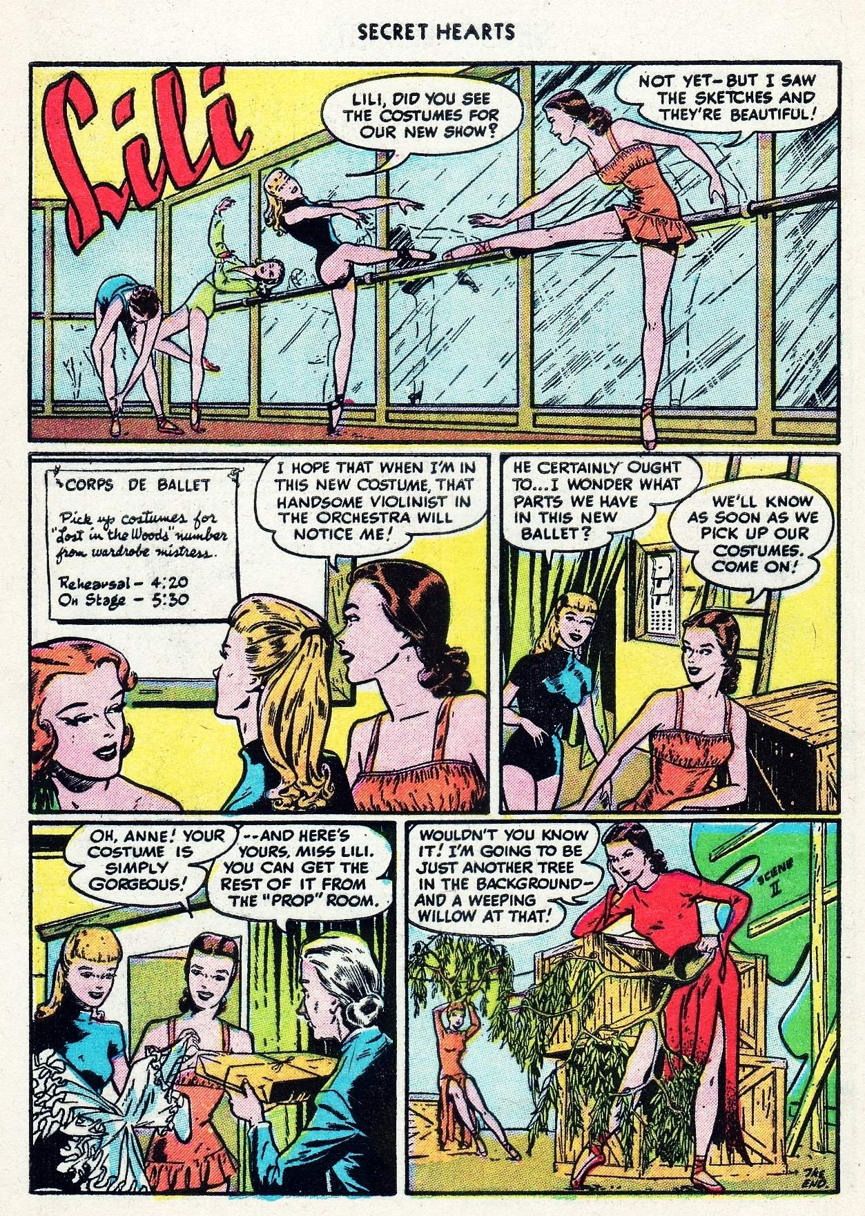 Read online Secret Hearts comic -  Issue #29 - 10