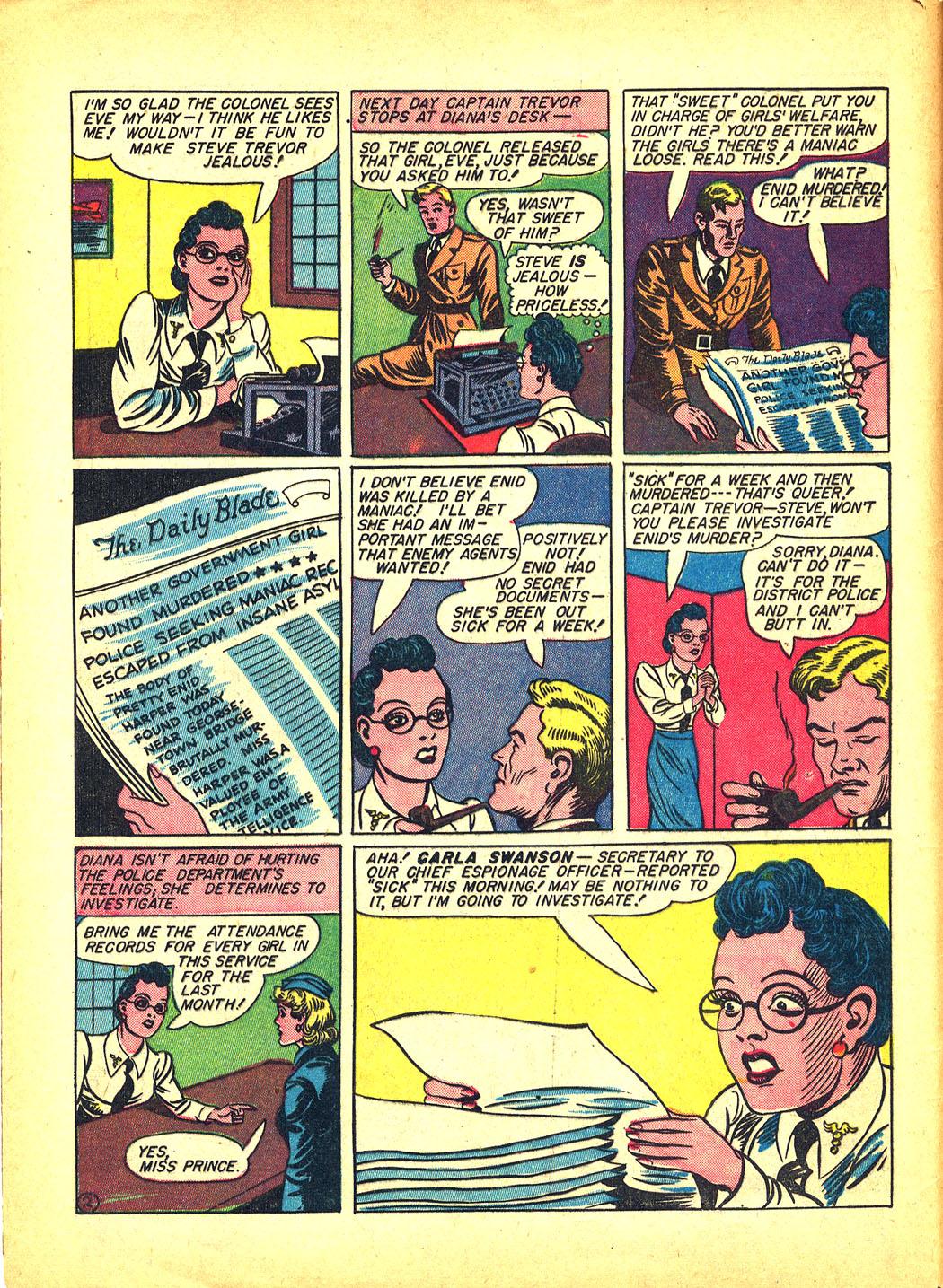 Read online Sensation (Mystery) Comics comic -  Issue #4 - 4