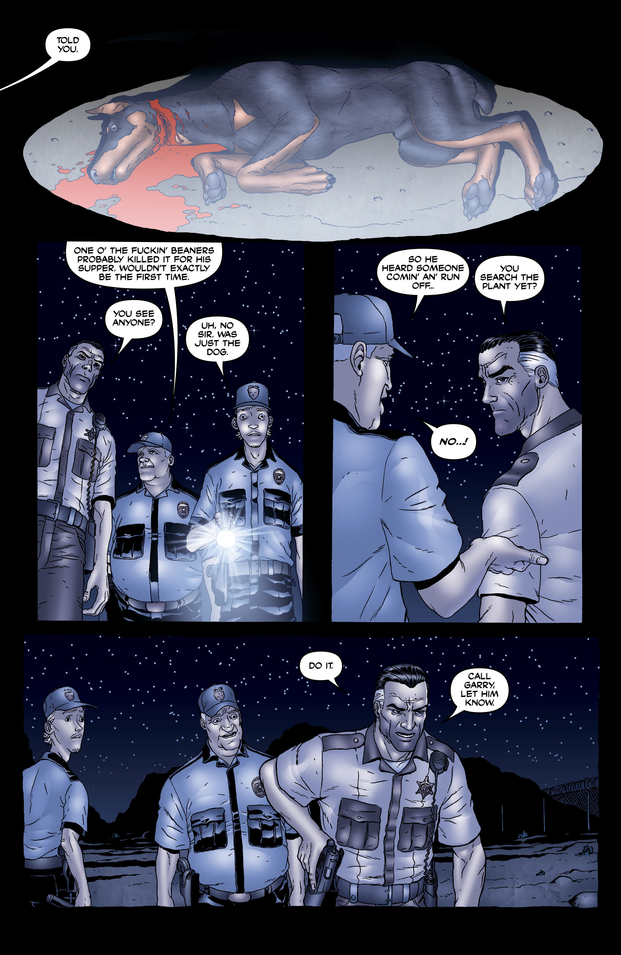 Read online 303 comic -  Issue #5 - 4