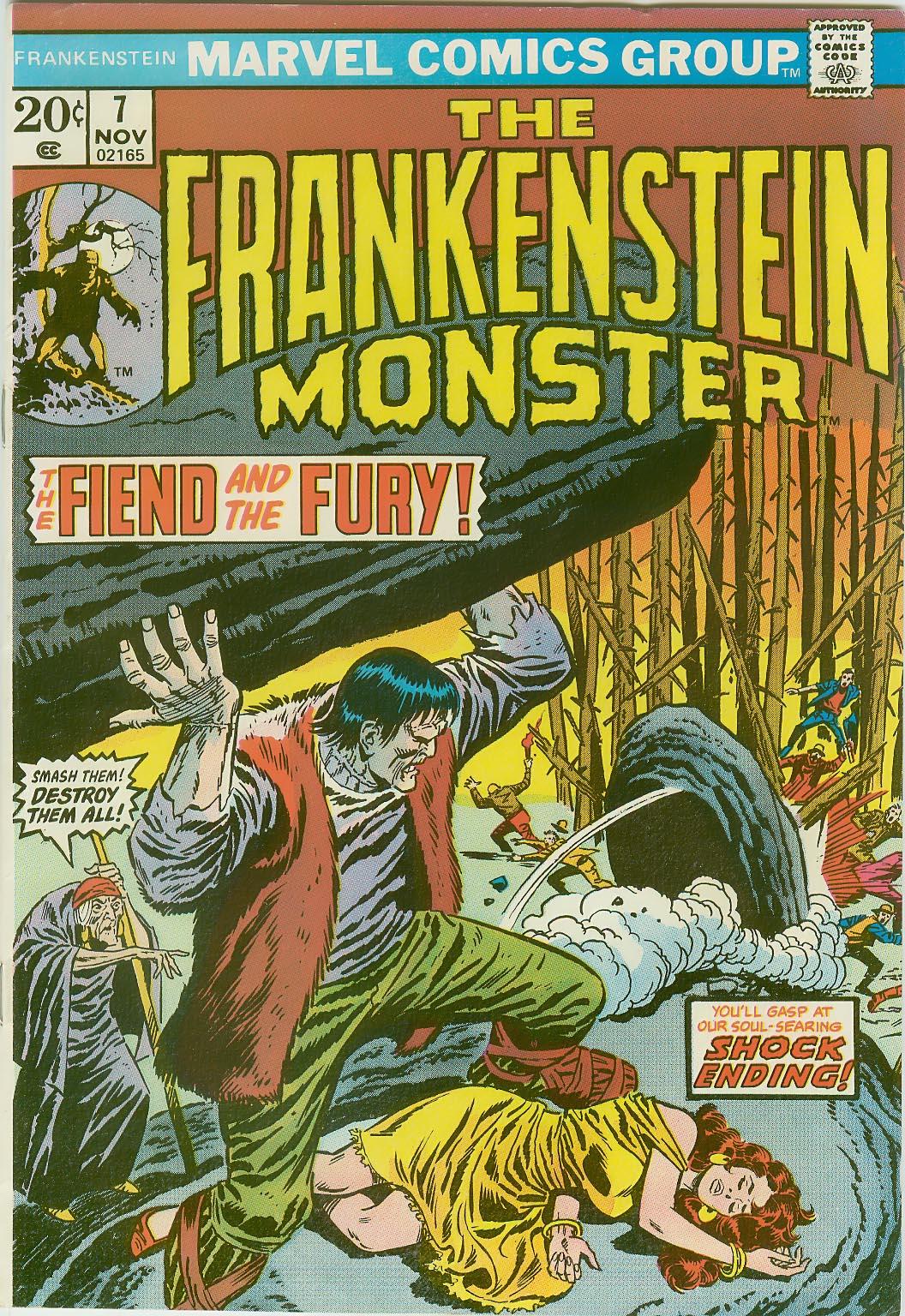 Frankenstein (1973) issue 7 - Page 1