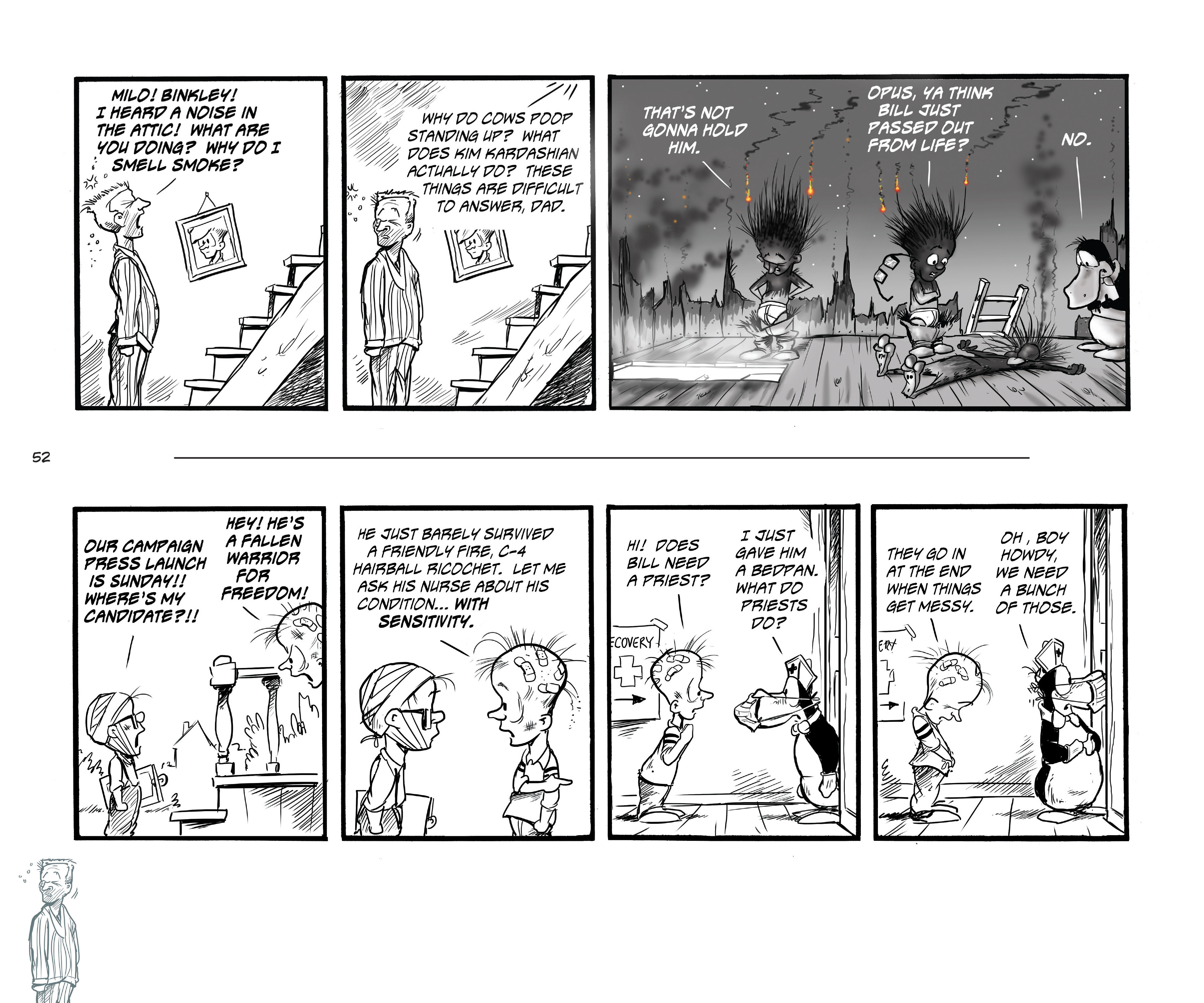 Read online Bloom County Episode XI: A New Hope comic -  Issue # Full - 54