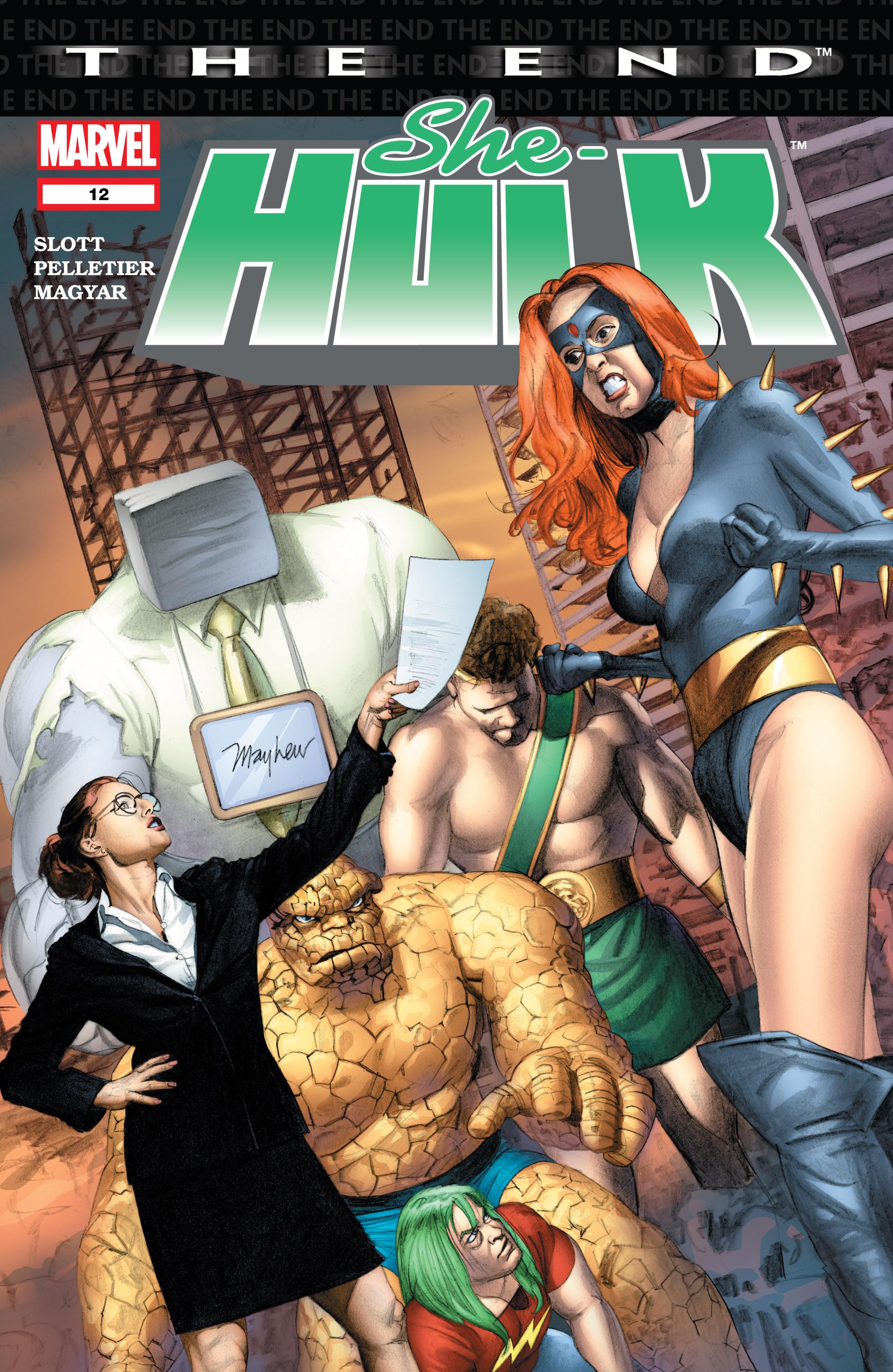 Read online She-Hulk (2004) comic -  Issue #12 - 1