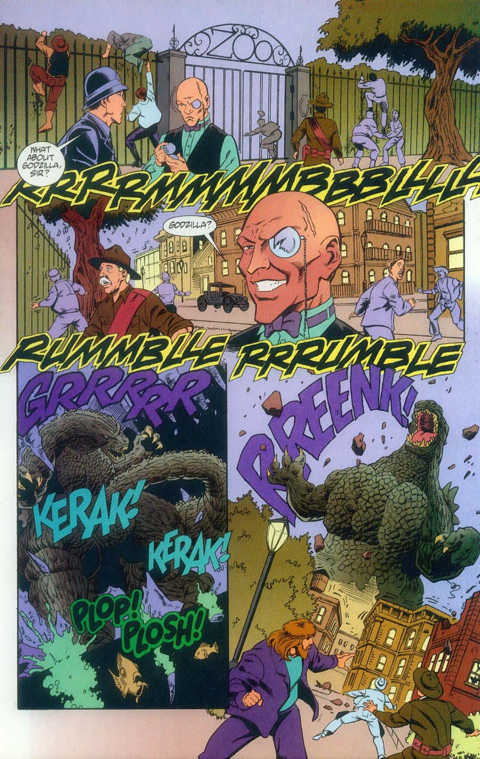 Godzilla (1995) Issue #11 #12 - English 21