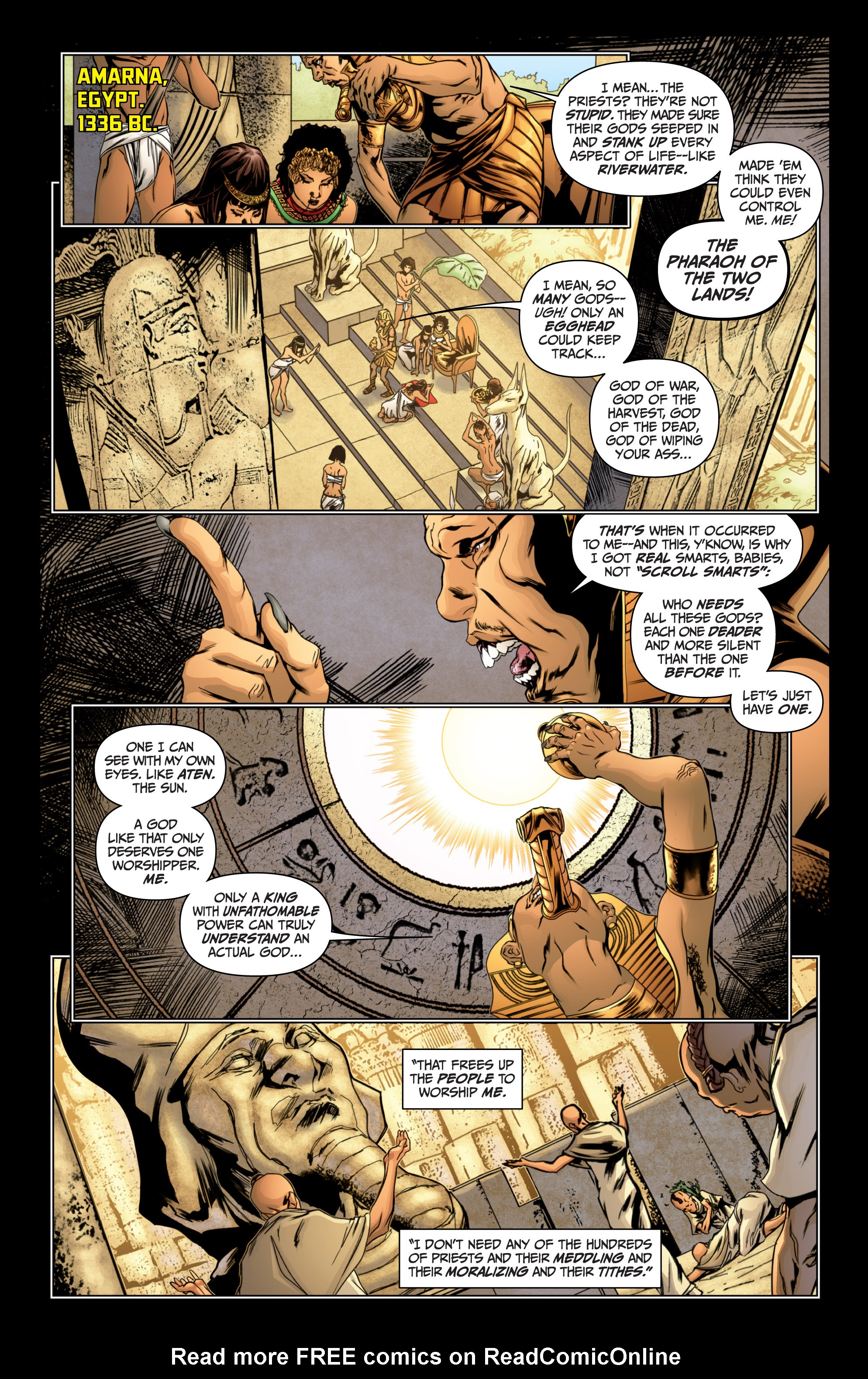 Read online Archer and Armstrong comic -  Issue #Archer and Armstrong _TPB 4 - 10