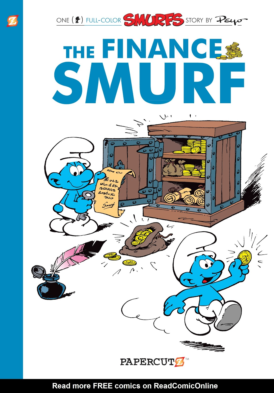 Read online The Smurfs comic -  Issue #18 - 1