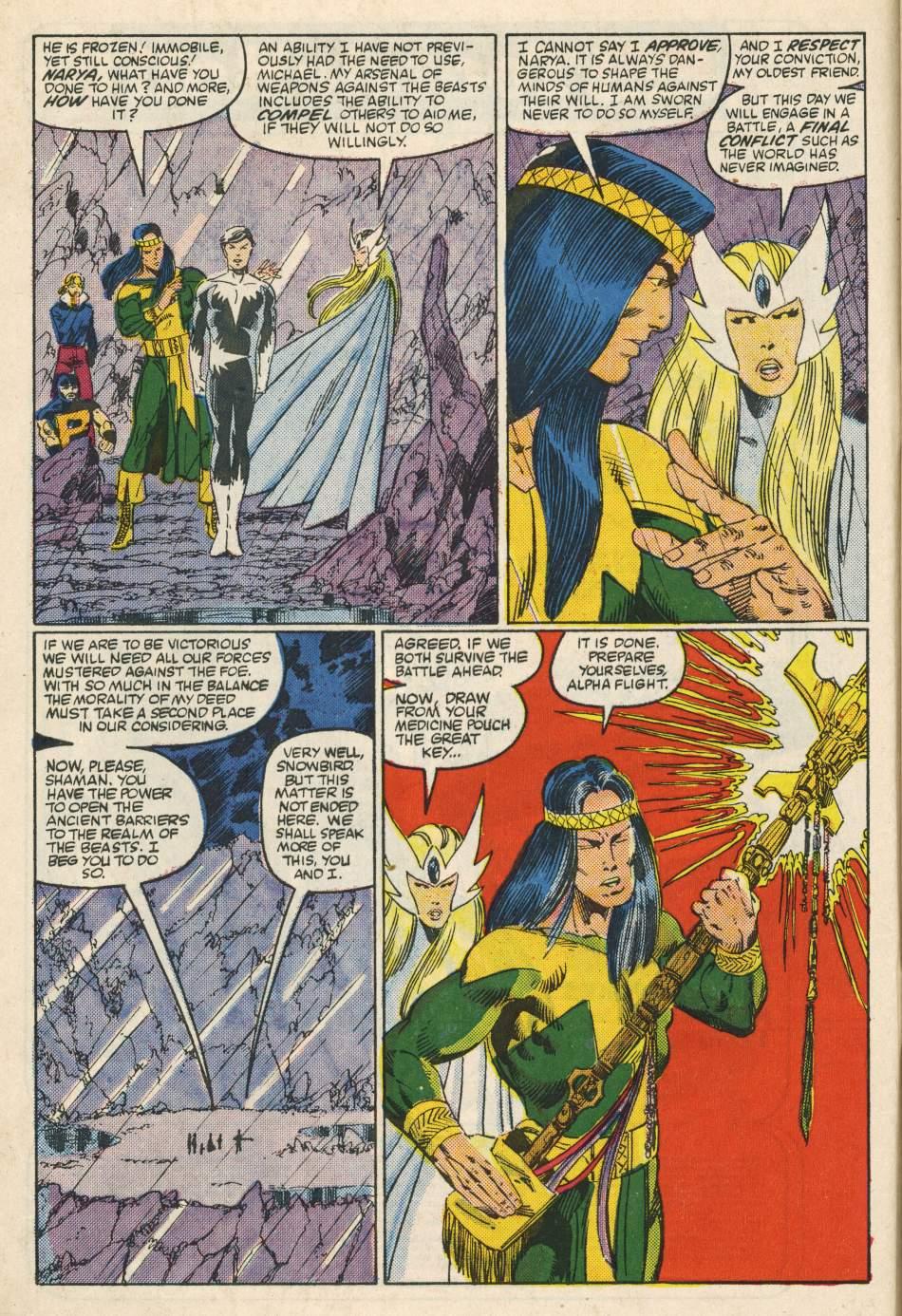 Read online Alpha Flight (1983) comic -  Issue #24 - 7