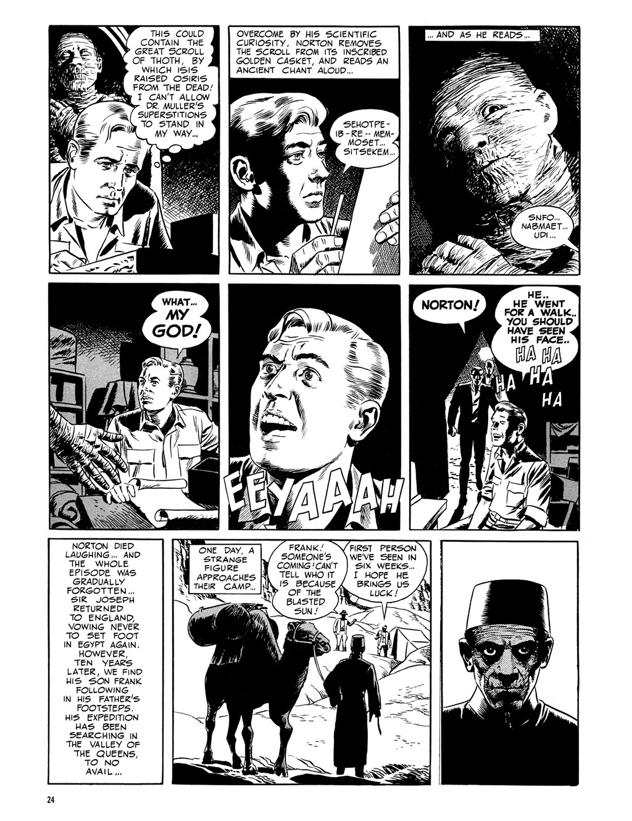 Read online Eerie Archives comic -  Issue # TPB 3 - 25