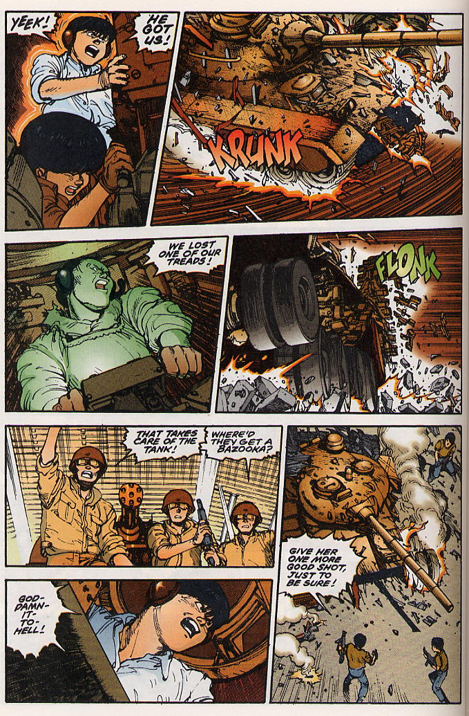 Read online Akira comic -  Issue #15 - 33