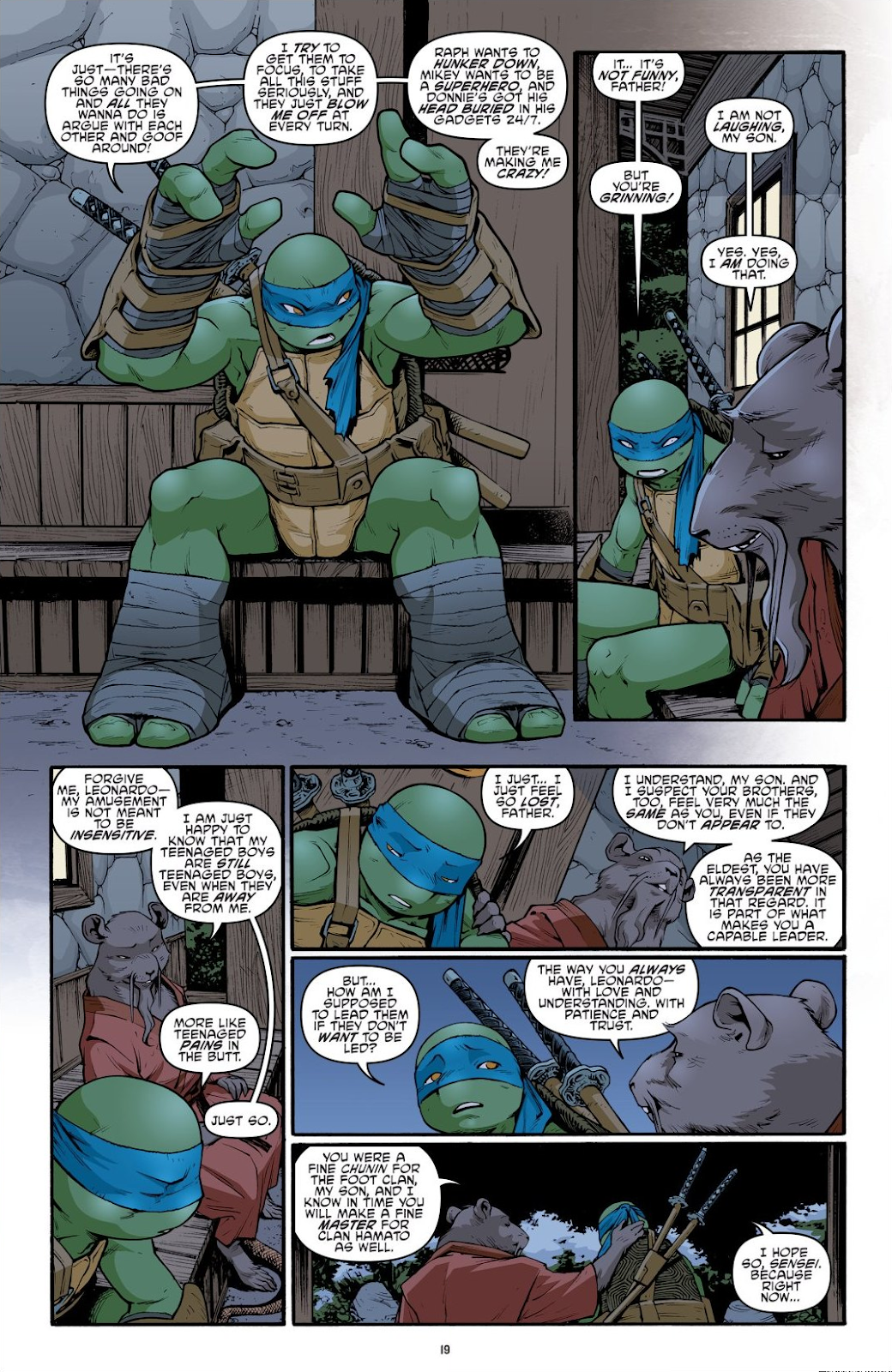 Read online Teenage Mutant Ninja Turtles: The IDW Collection comic -  Issue # TPB 9 (Part 1) - 20