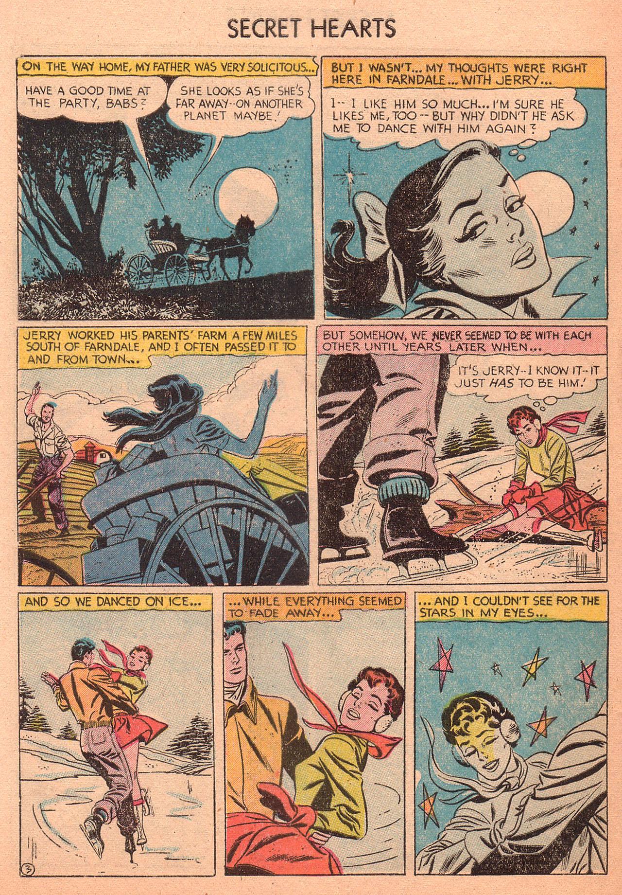 Read online Secret Hearts comic -  Issue #27 - 28