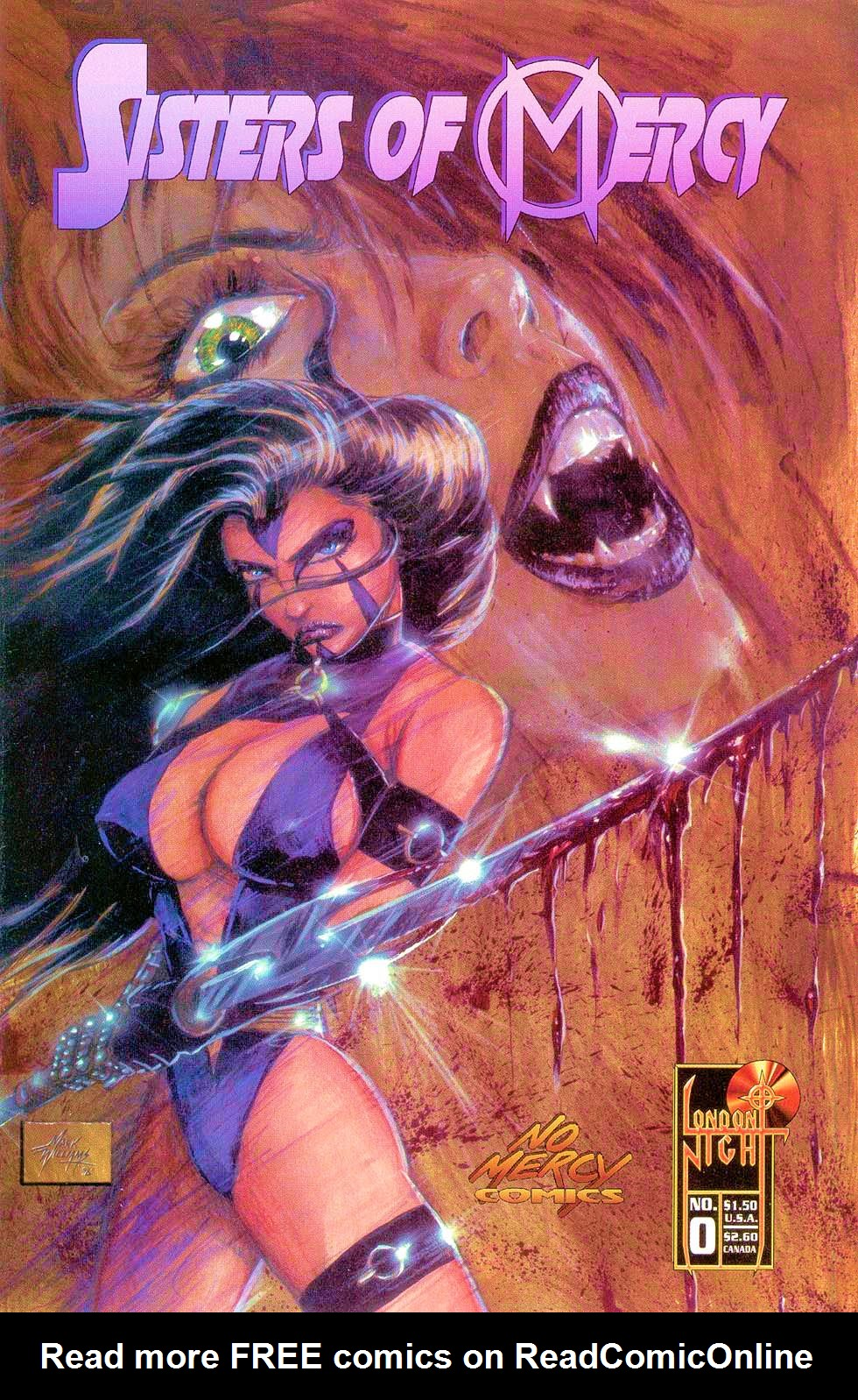 Read online Sisters of Mercy comic -  Issue #0 - 1