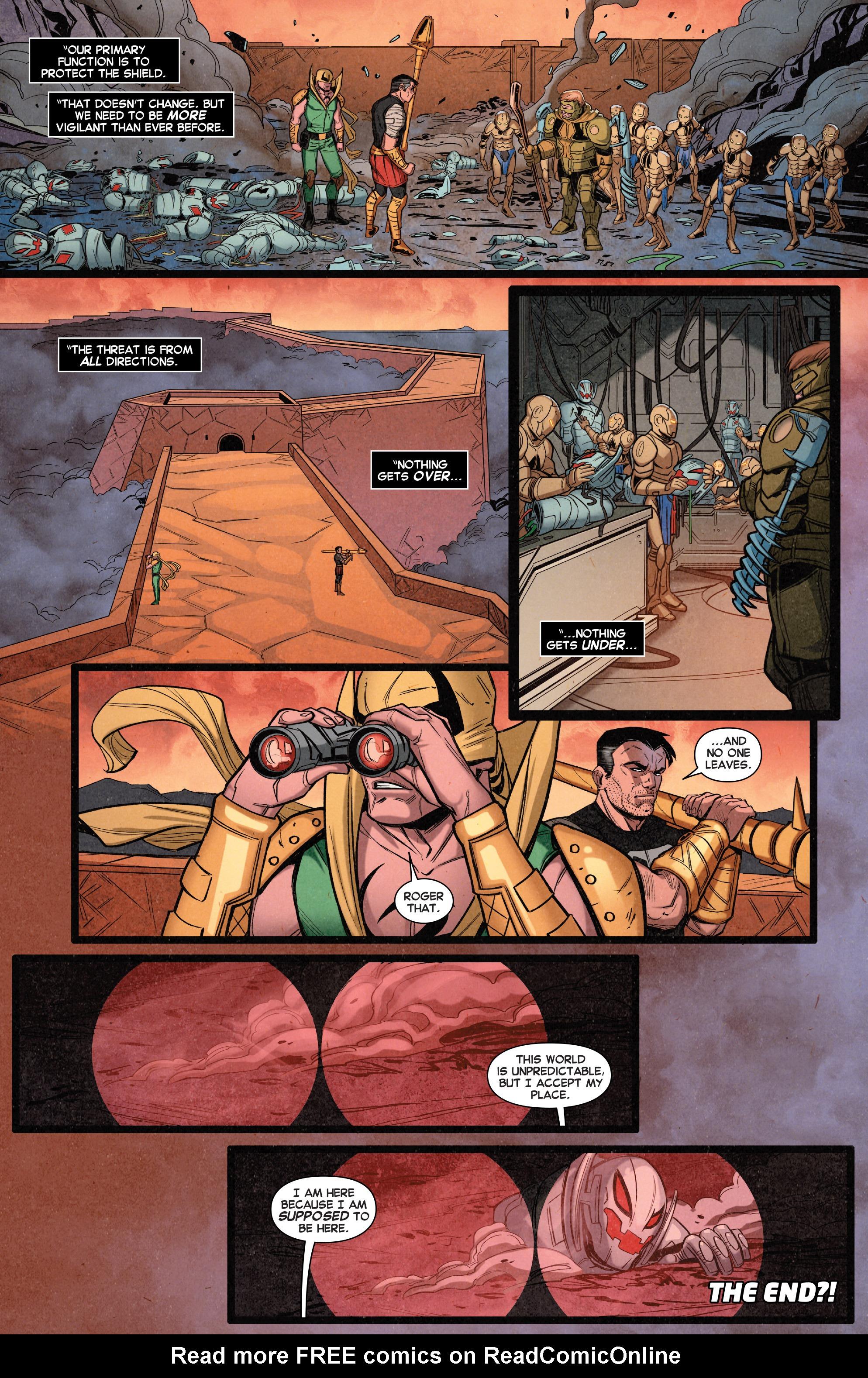 Read online Secret Wars Journal/Battleworld comic -  Issue # TPB - 57