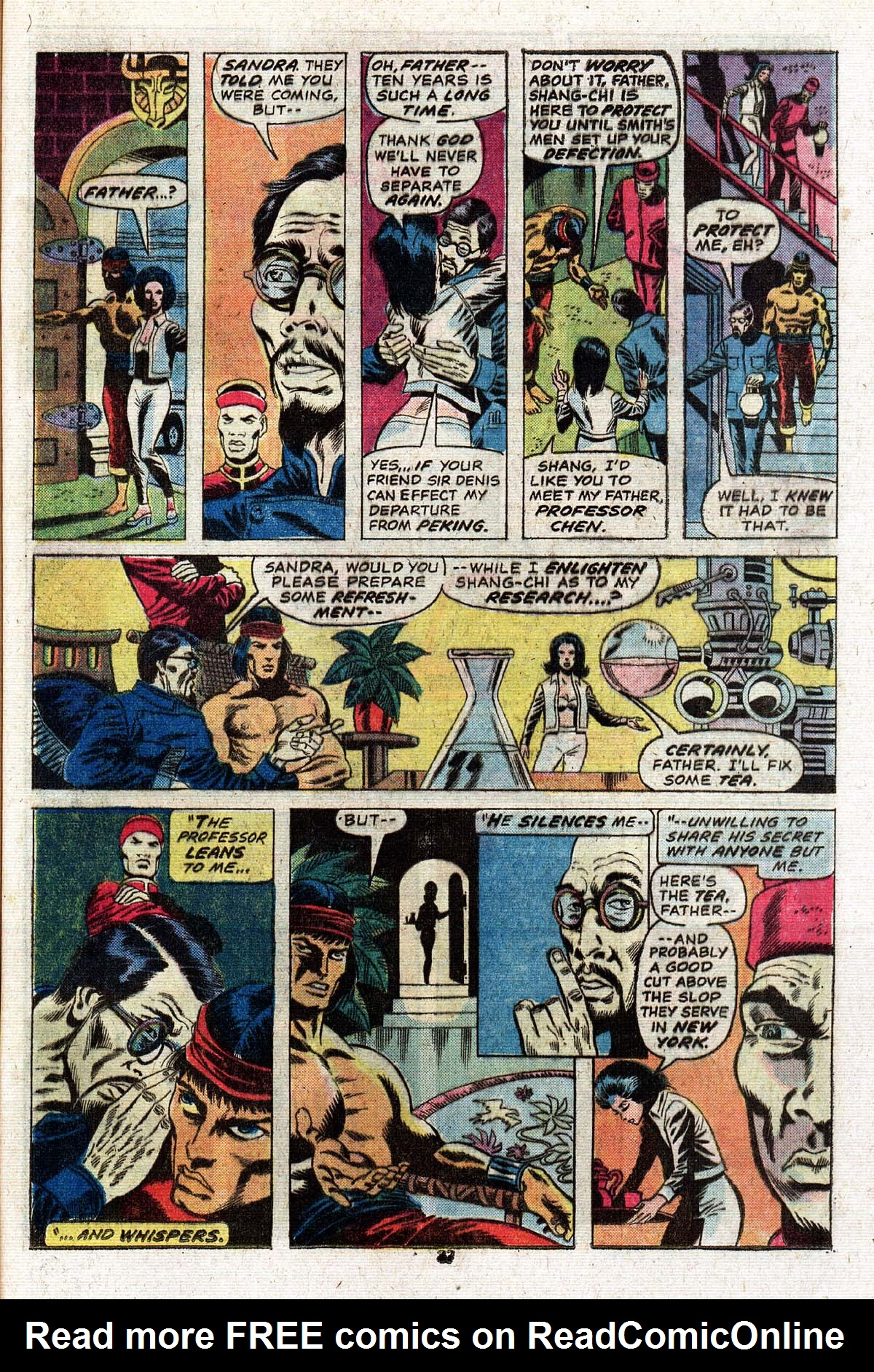 Read online Giant-Size Master of Kung Fu comic -  Issue #2 - 31