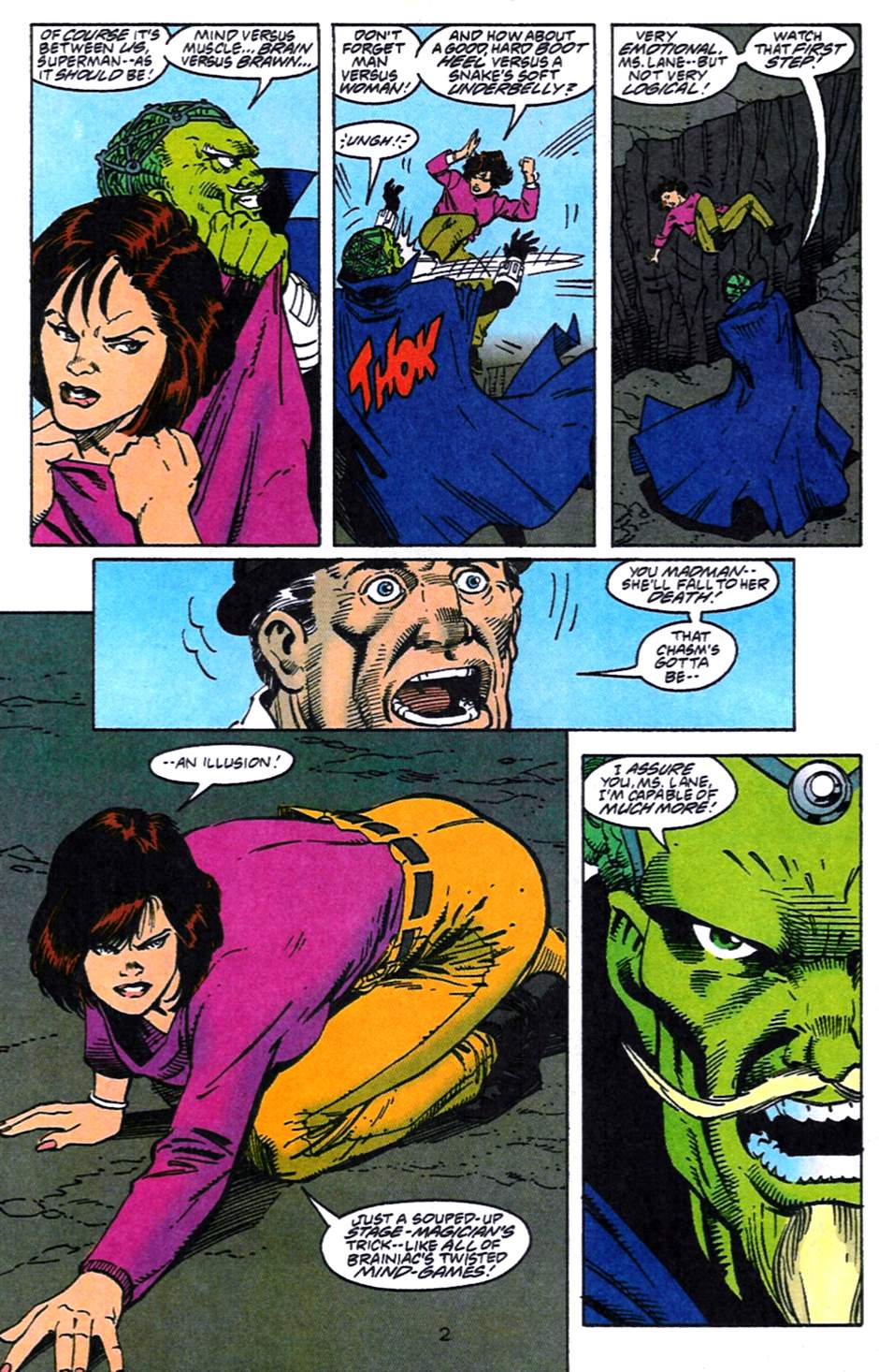 Read online Adventures of Superman (1987) comic -  Issue #519 - 3