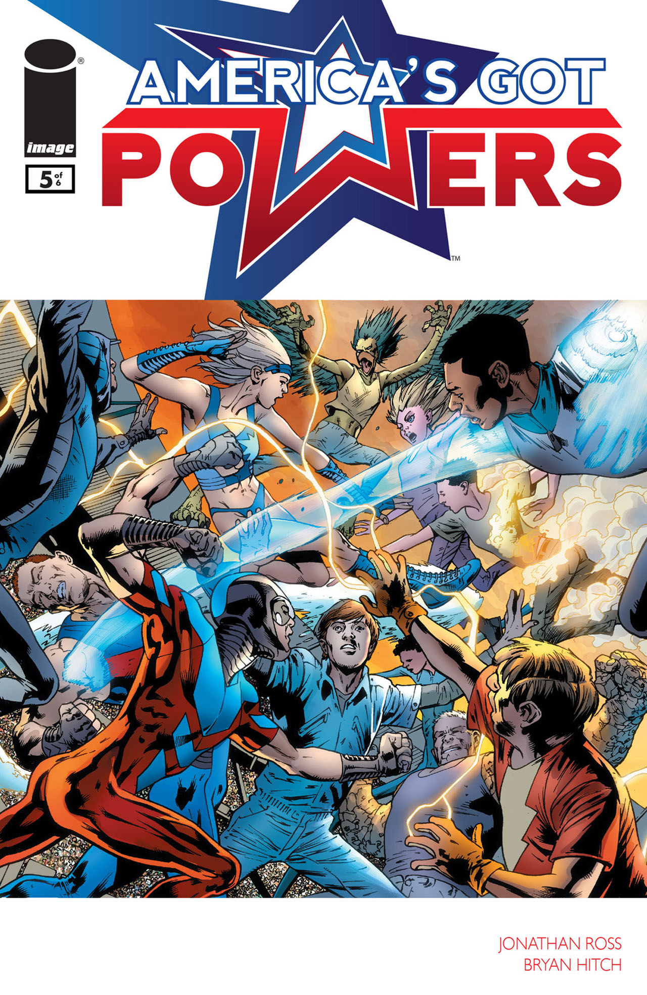 Americas Got Powers 5 Page 1